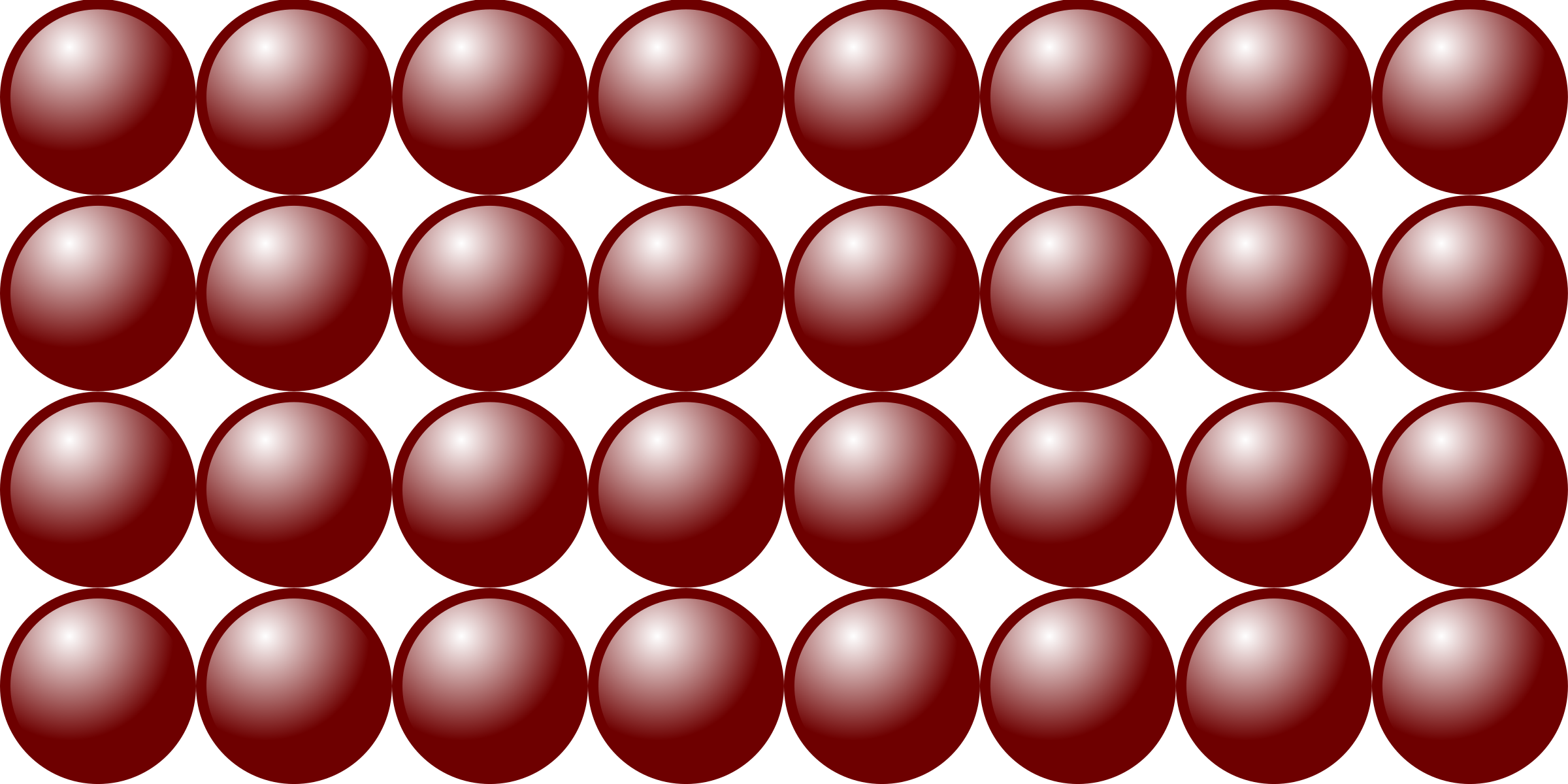 Beads quantitative picture for multiplication 4x8 by frankes