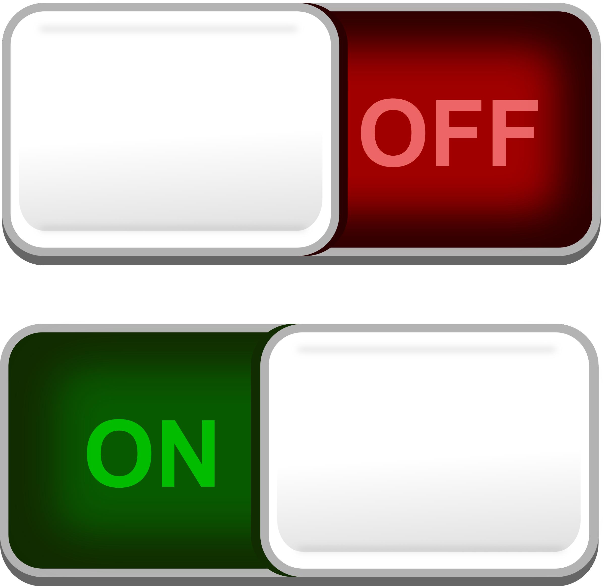 Clipart - UI Toggle button