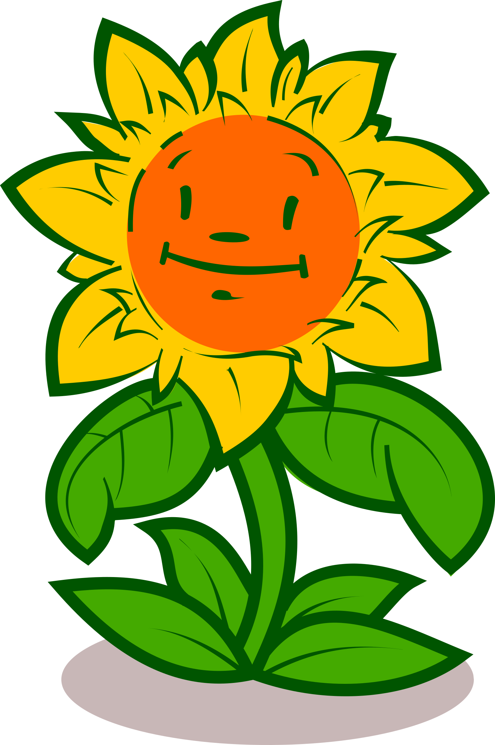 cartoon flower cute
