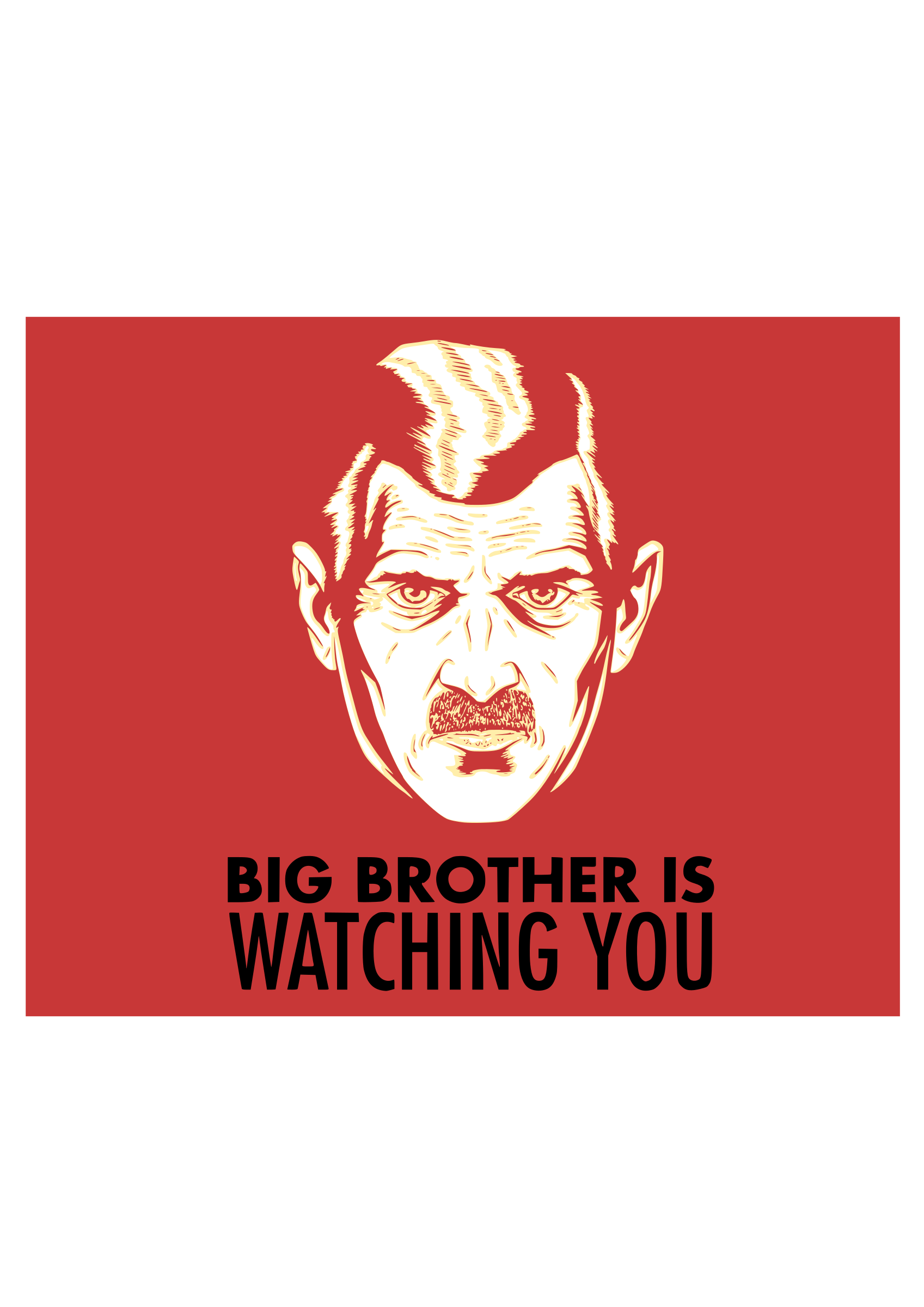 """1984 big brother is watching you Big brother is watching you introduction the idea of big brother comes from a book called """"1984"""" written by the english author george orwell in 1948."""