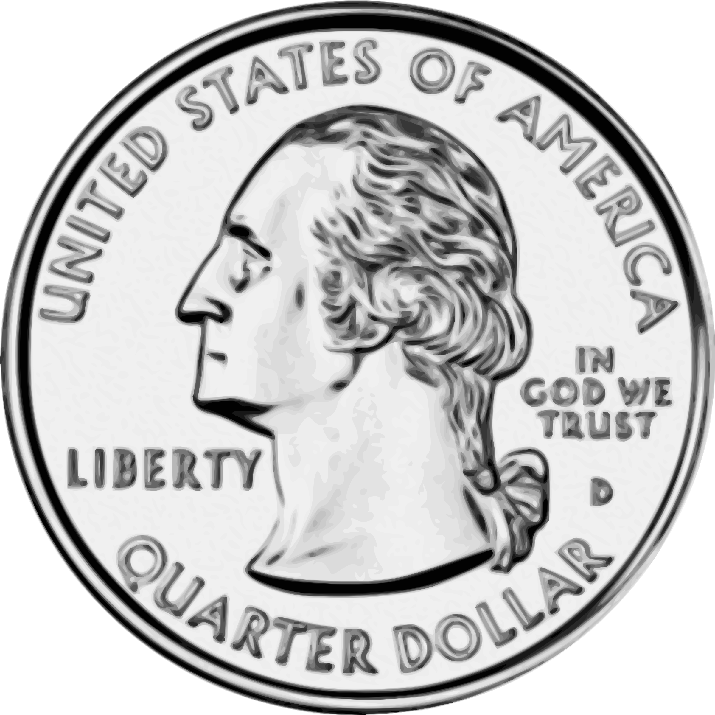 Quarters Clipart United States Q...