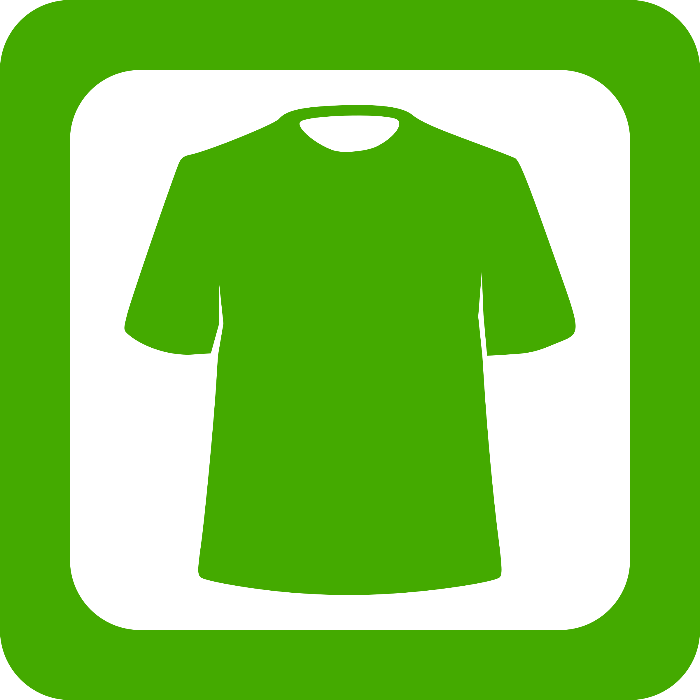 Green Clothing Icon by LeonH