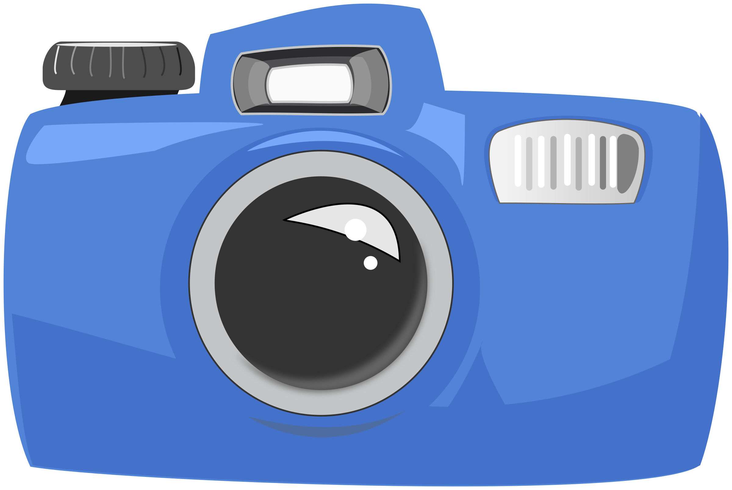 Clipart - Cartoon Camera