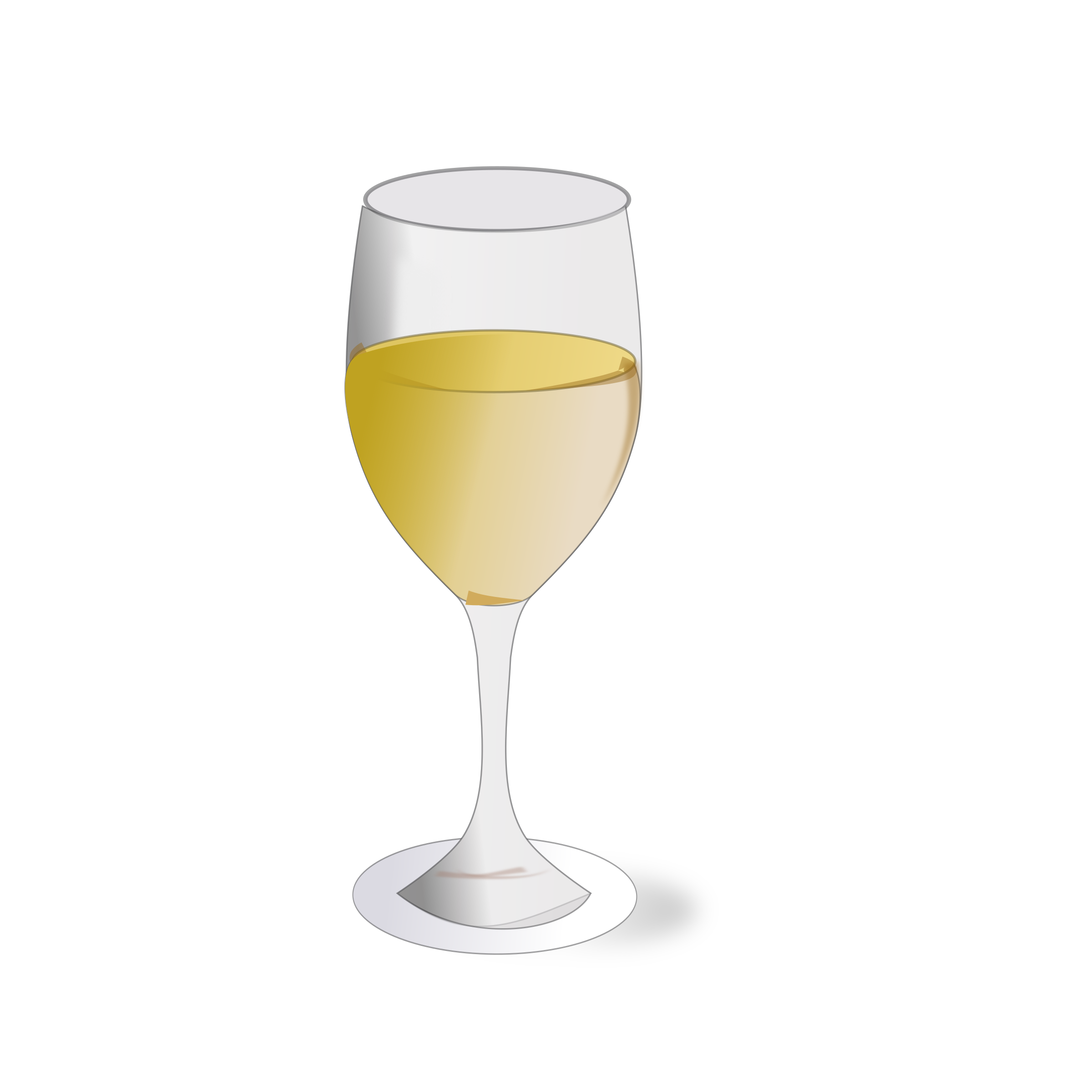 Wine glass by netalloy