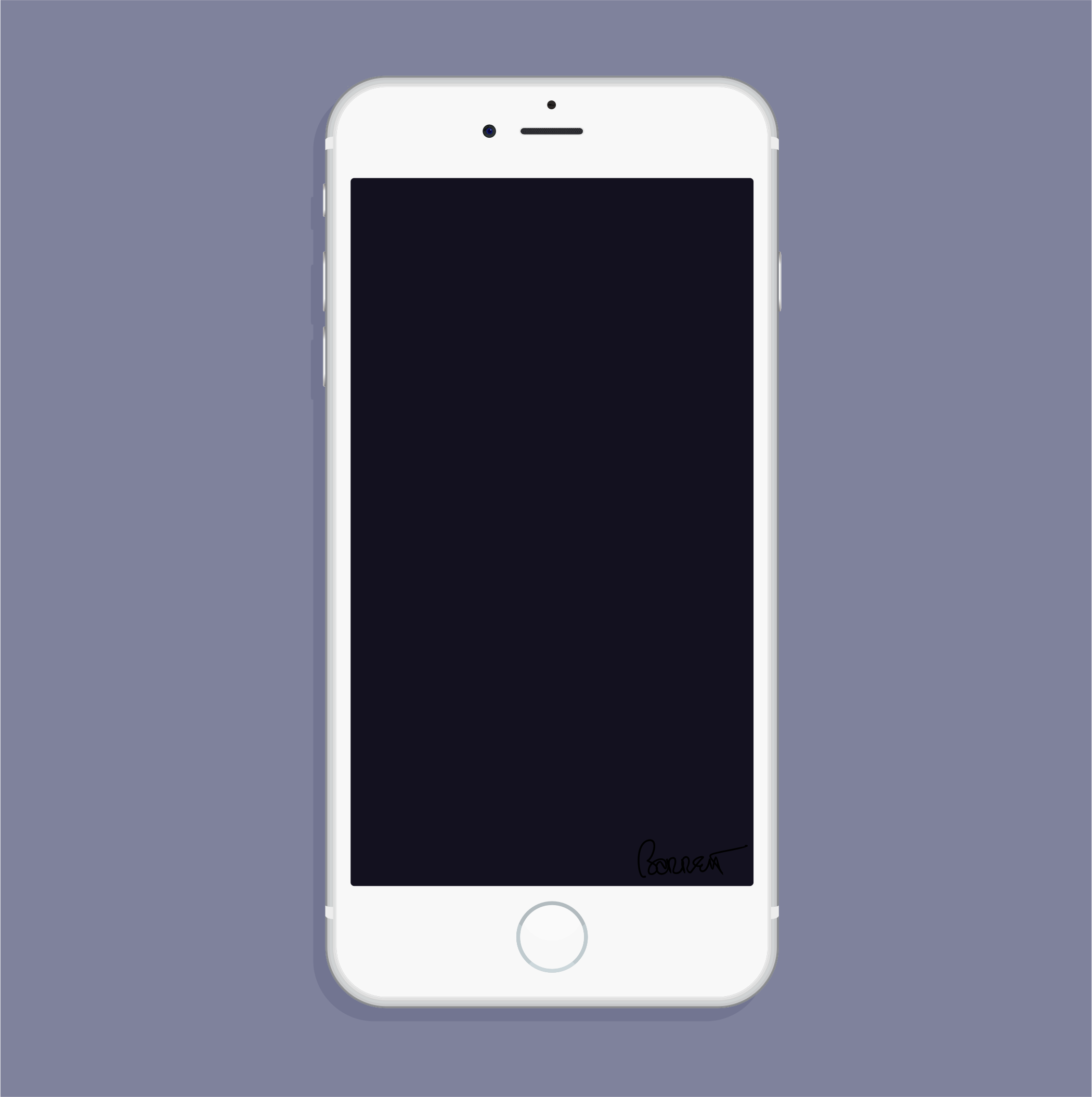White New iPhone 6 by barrettward