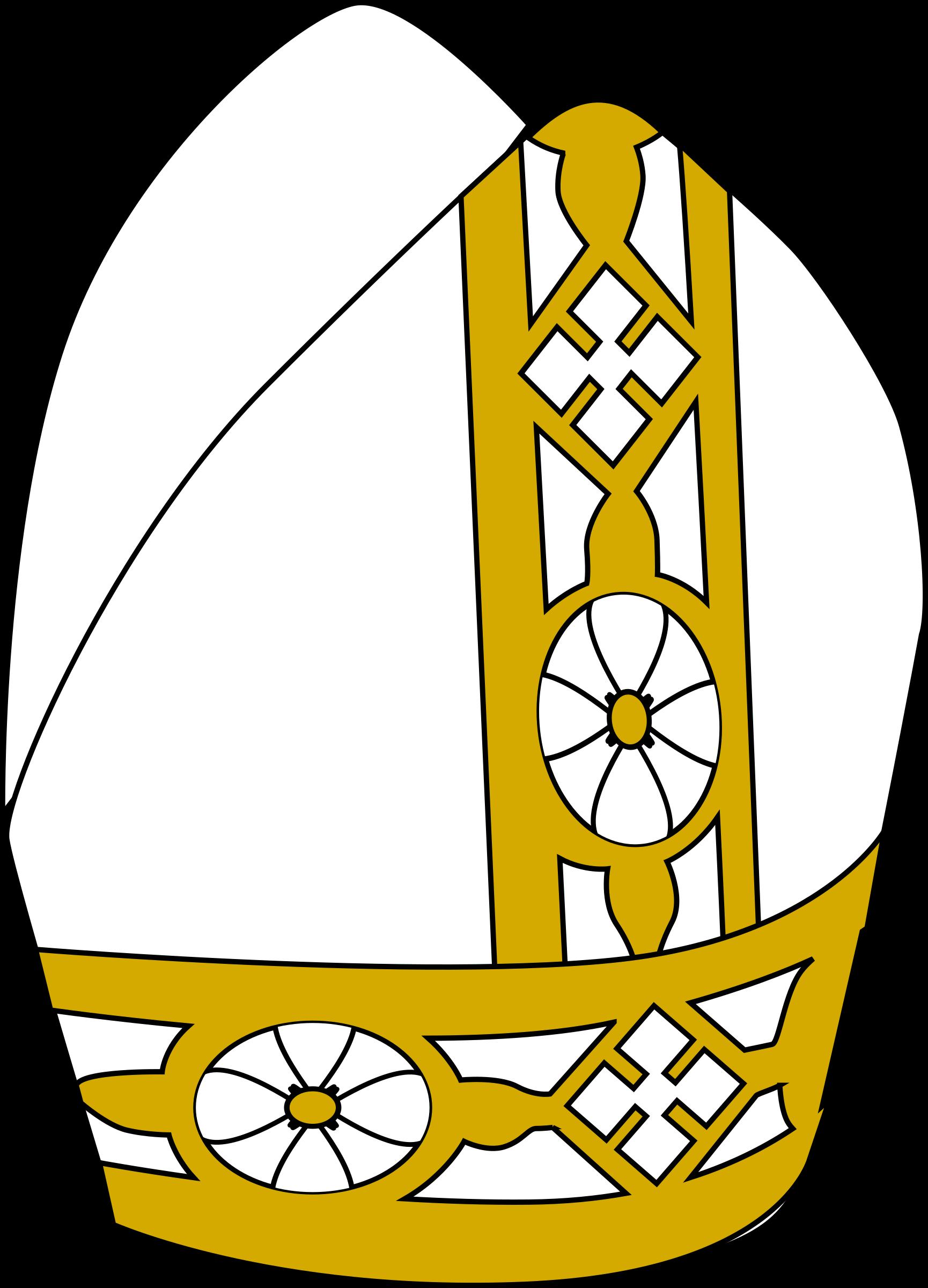 Pope hat by dear_theop...