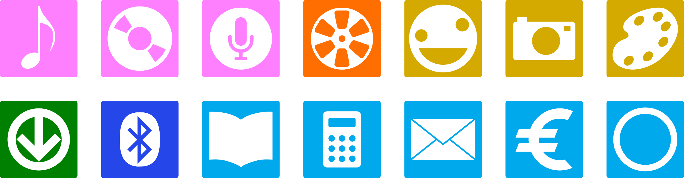 Icons for Android by rones