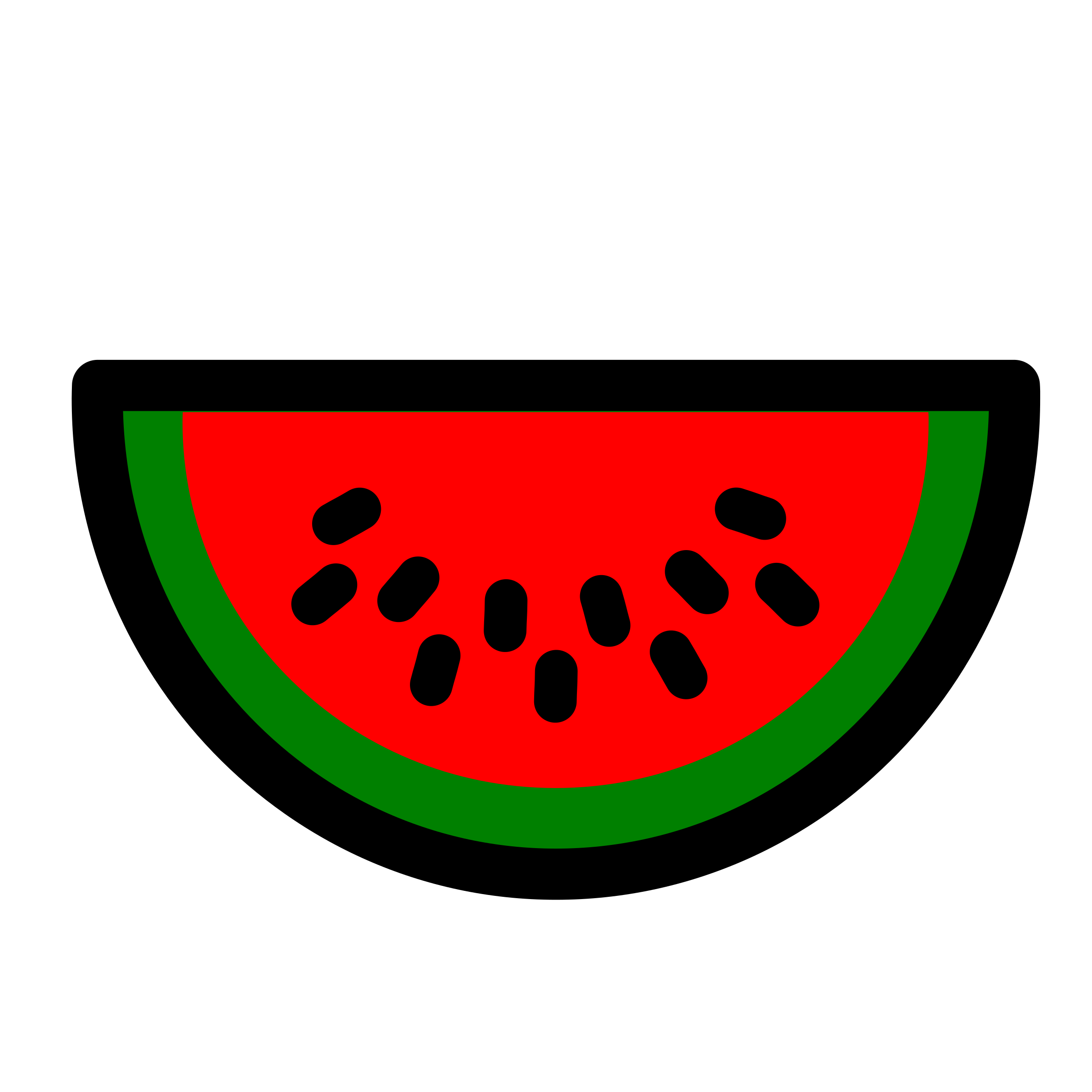 Watermelon icon 1 by pitr