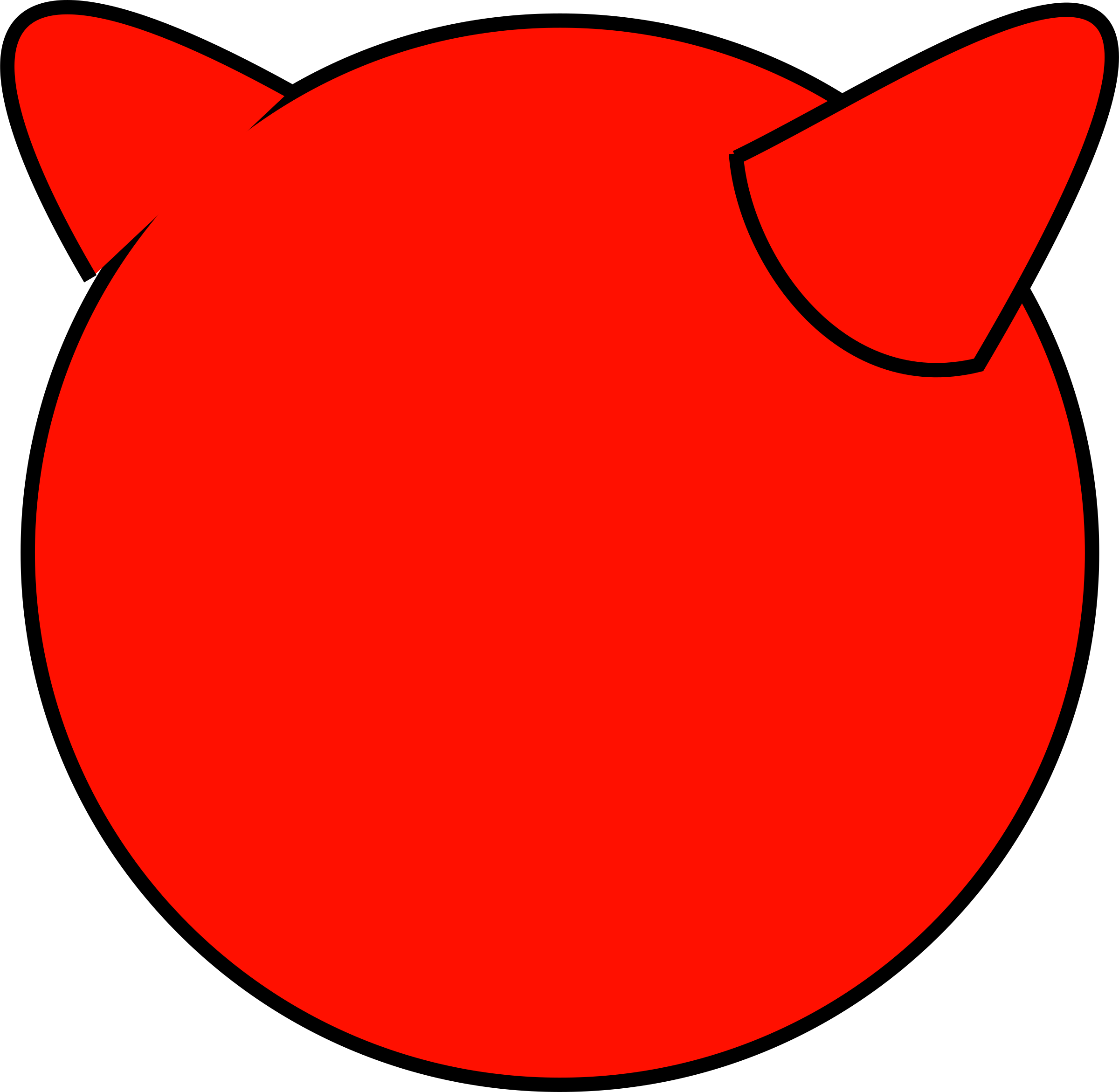 FreeBSD Demon Logo 2d by notKlaatu