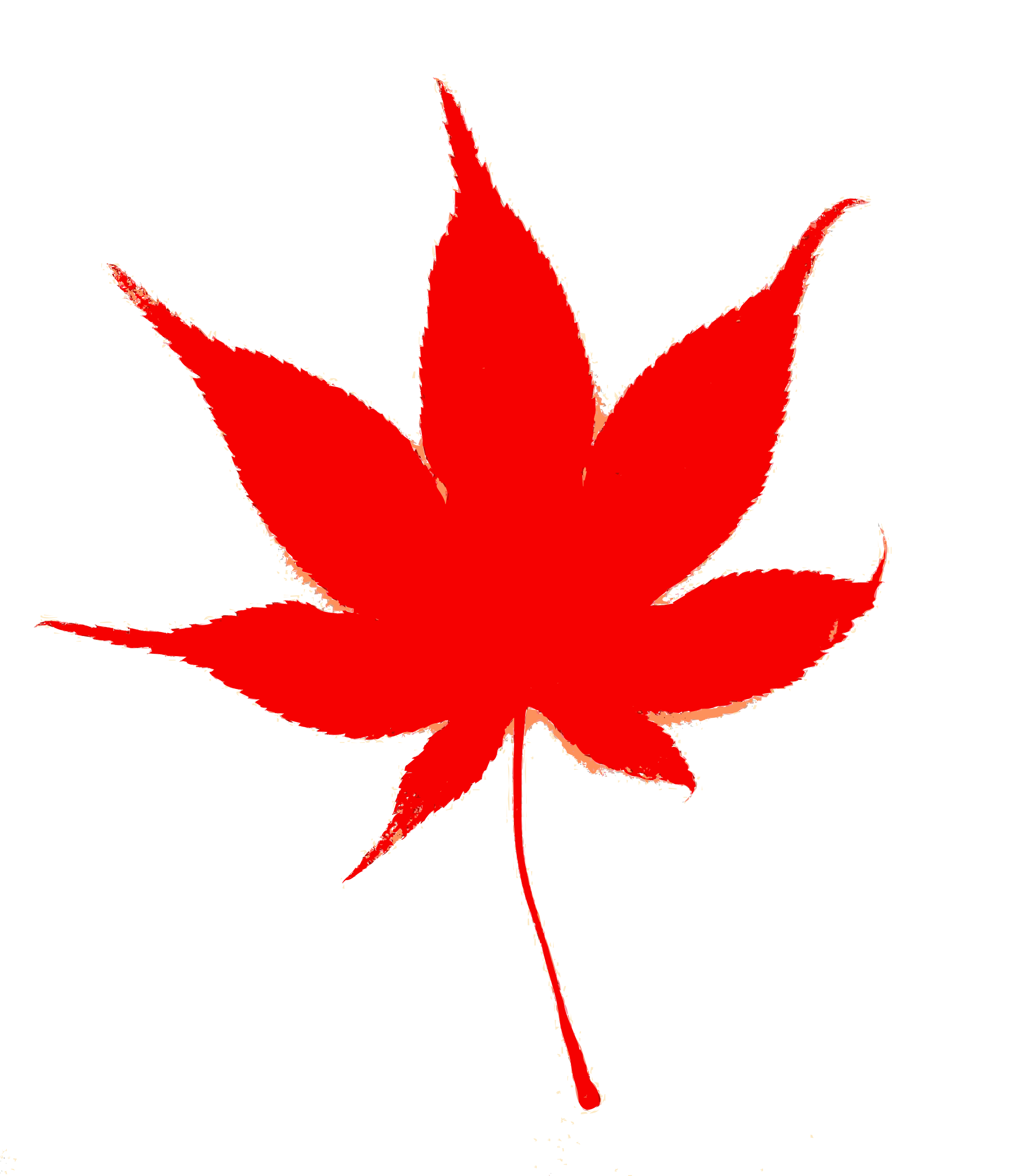 clipart japanese fall leaf color