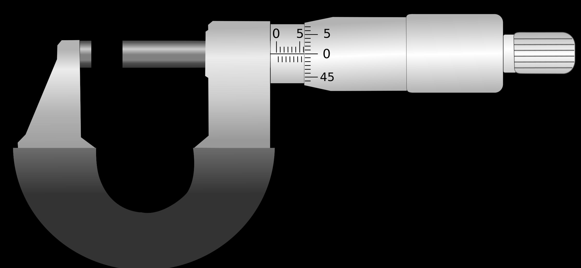 Clipart - Micrometer