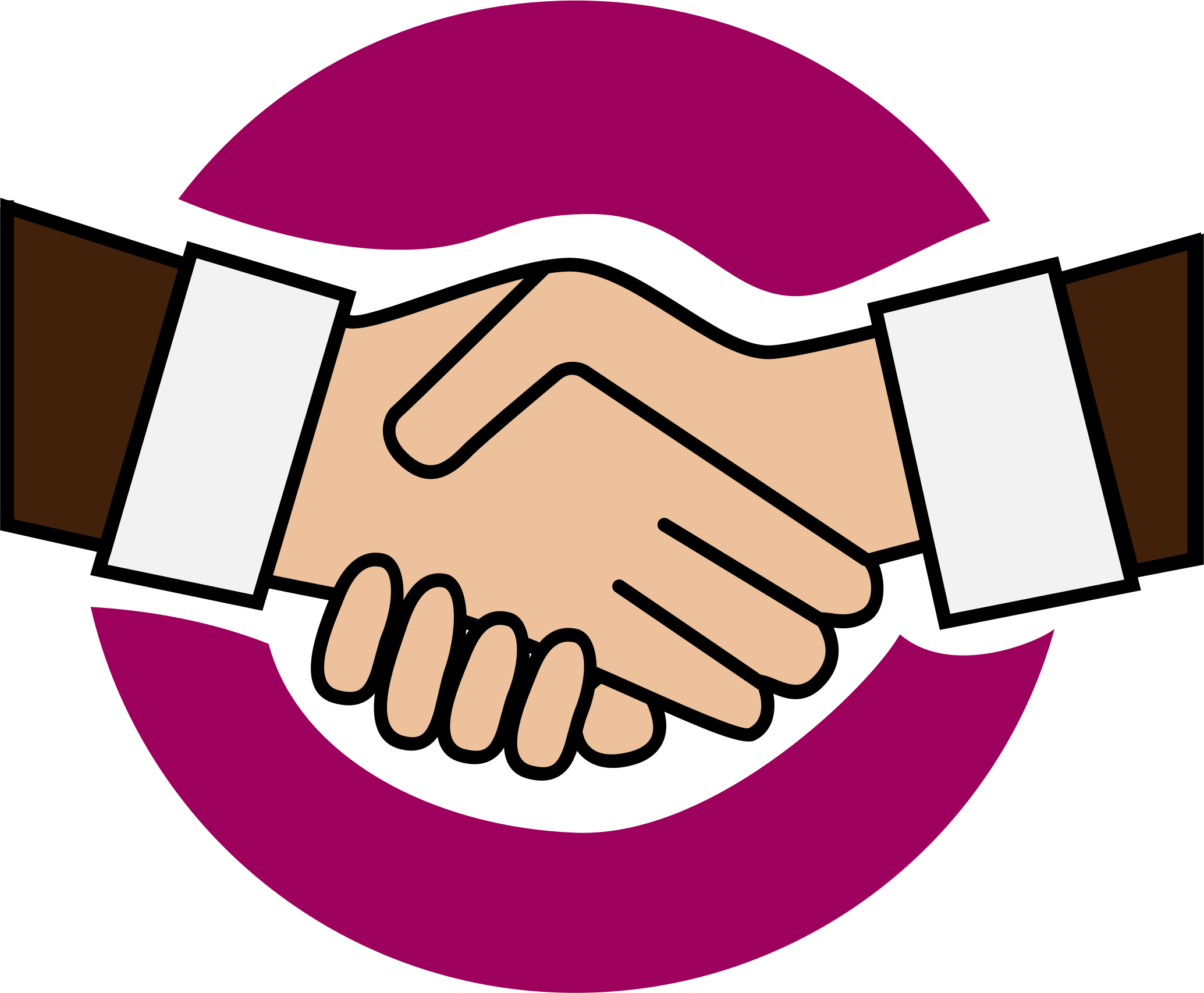 clipart a handshake icon rh openclipart org handshake clipart transparent handshake clipart black and white