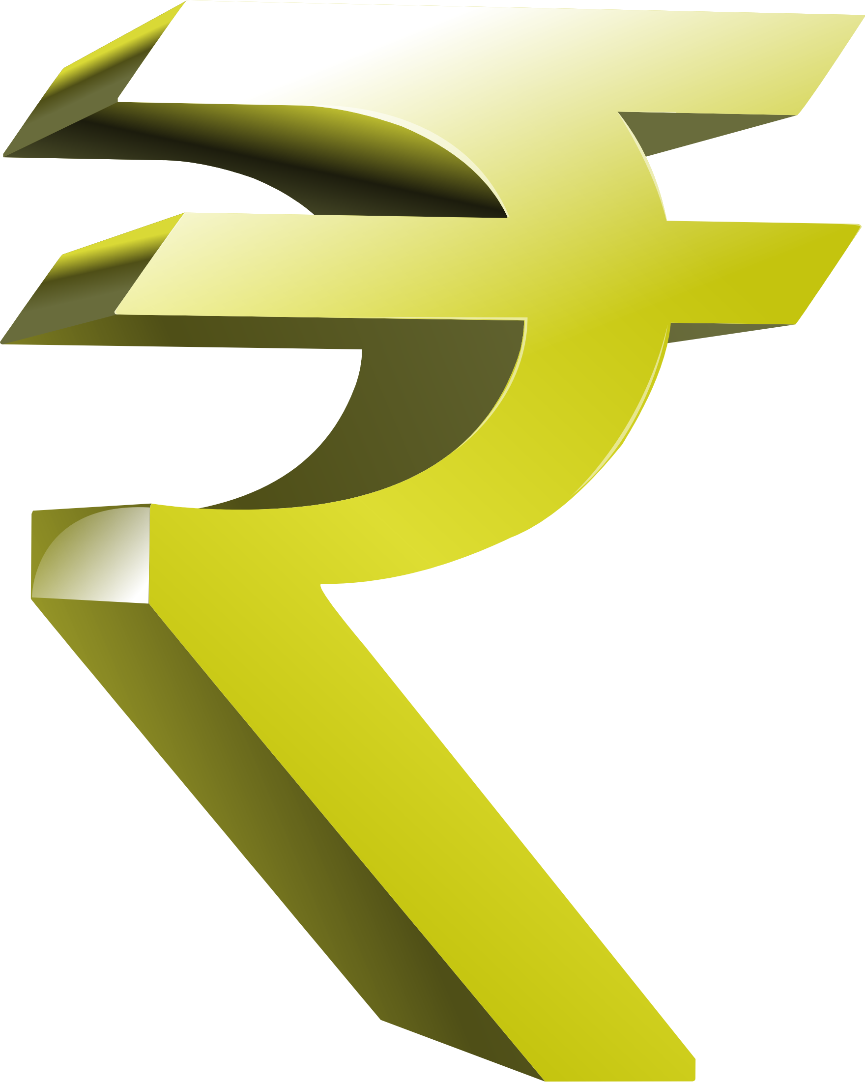 INDIAN RUPEE SYMBOL by westock