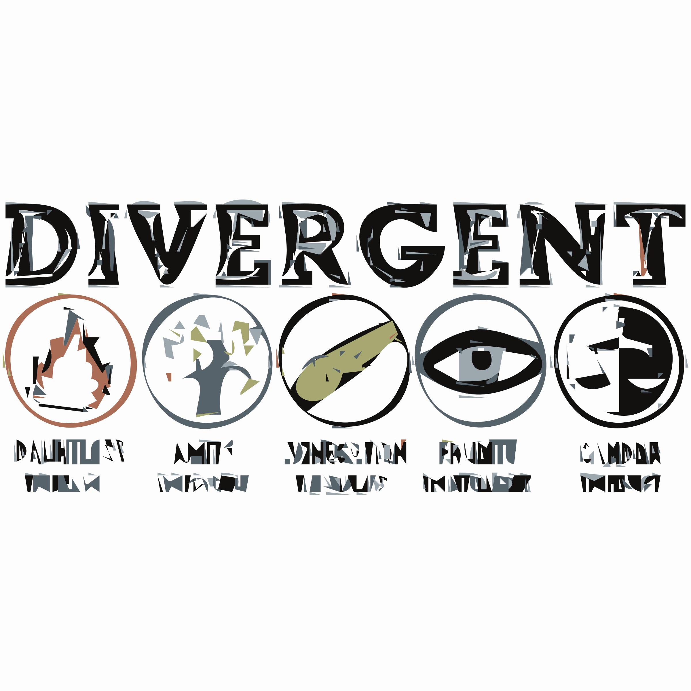 Divergent Factions  by Swift13