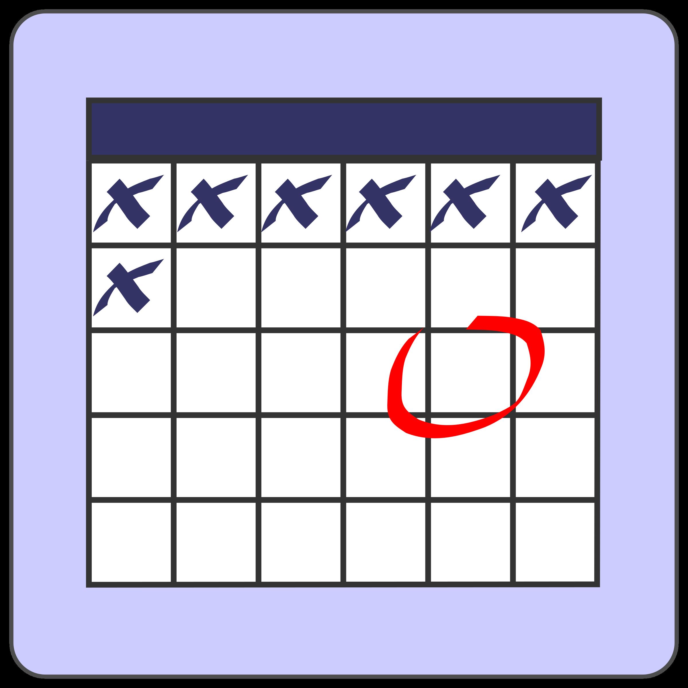 calendar by CoD_fsfe