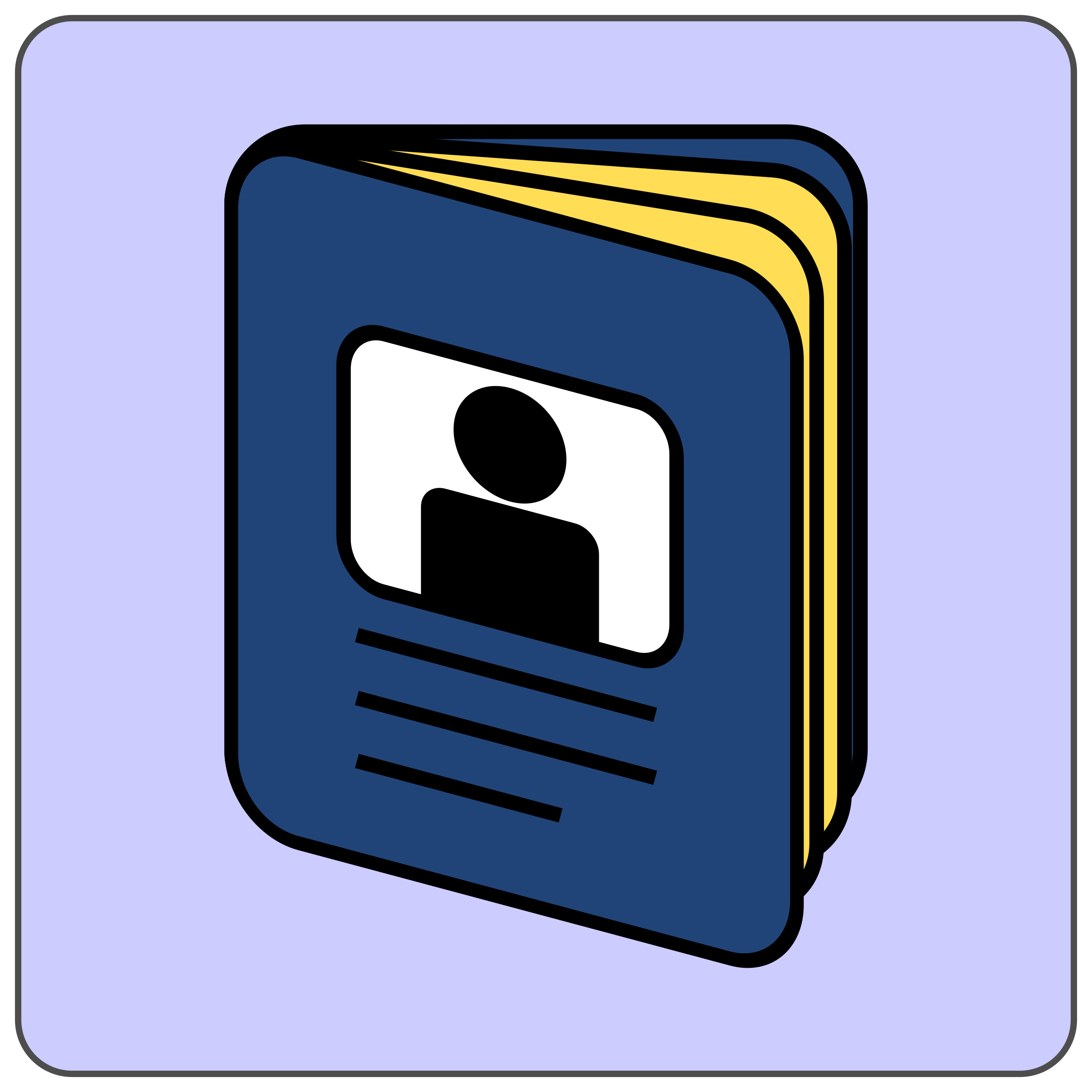 Passport icon by CoD_fsfe