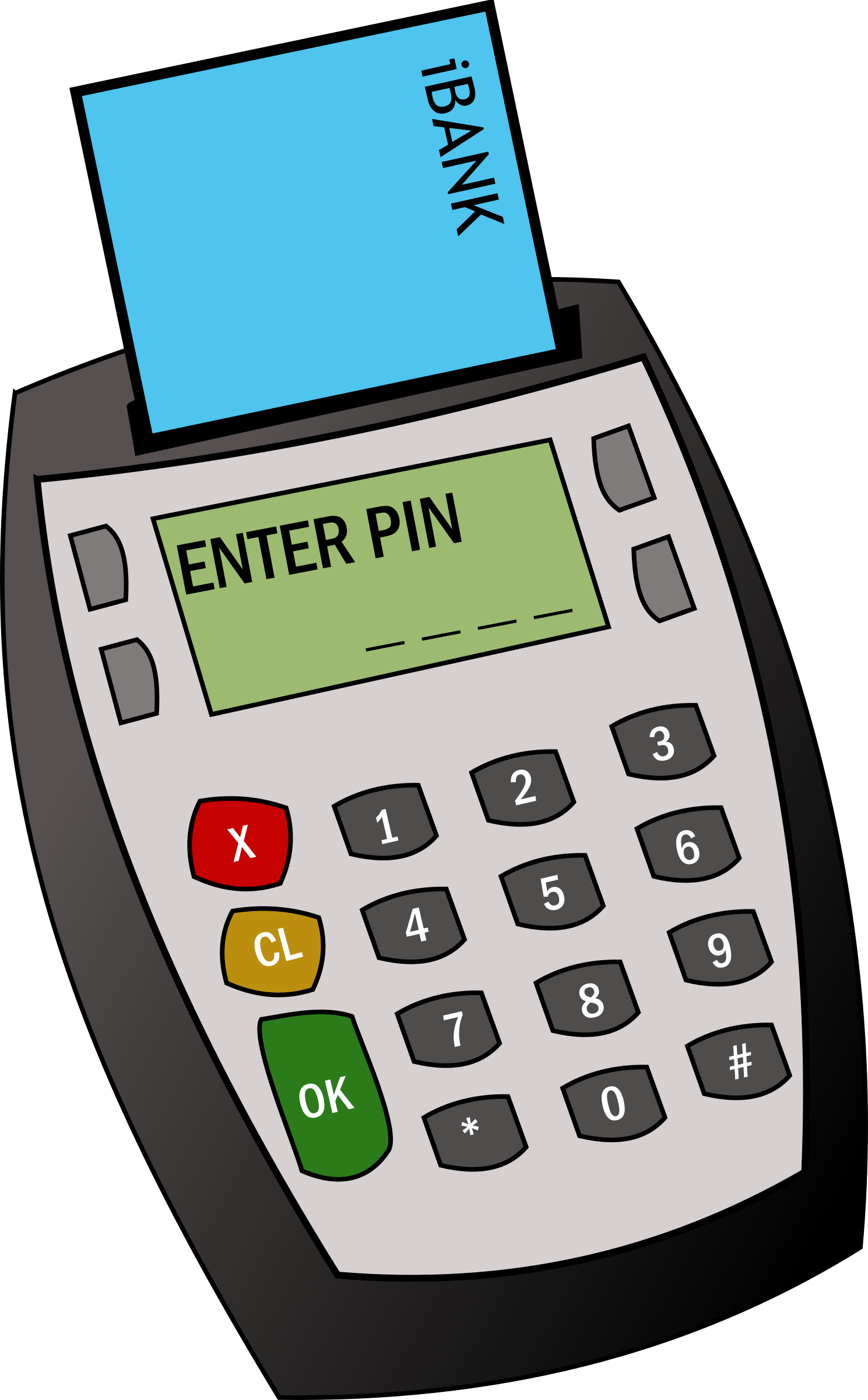 Chip and Pin Machine by clickschool