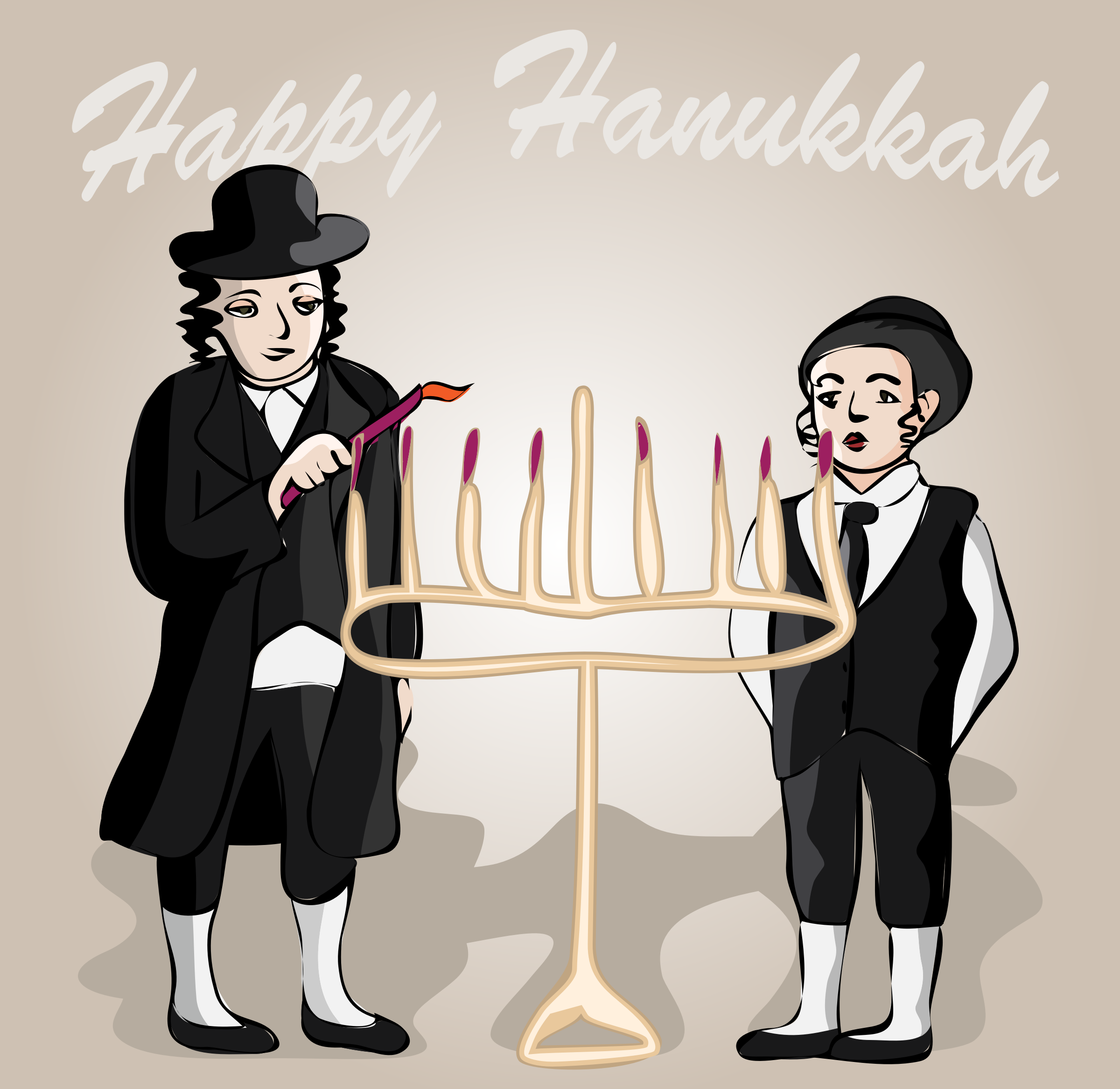 Happy Hanukkah by OlKu