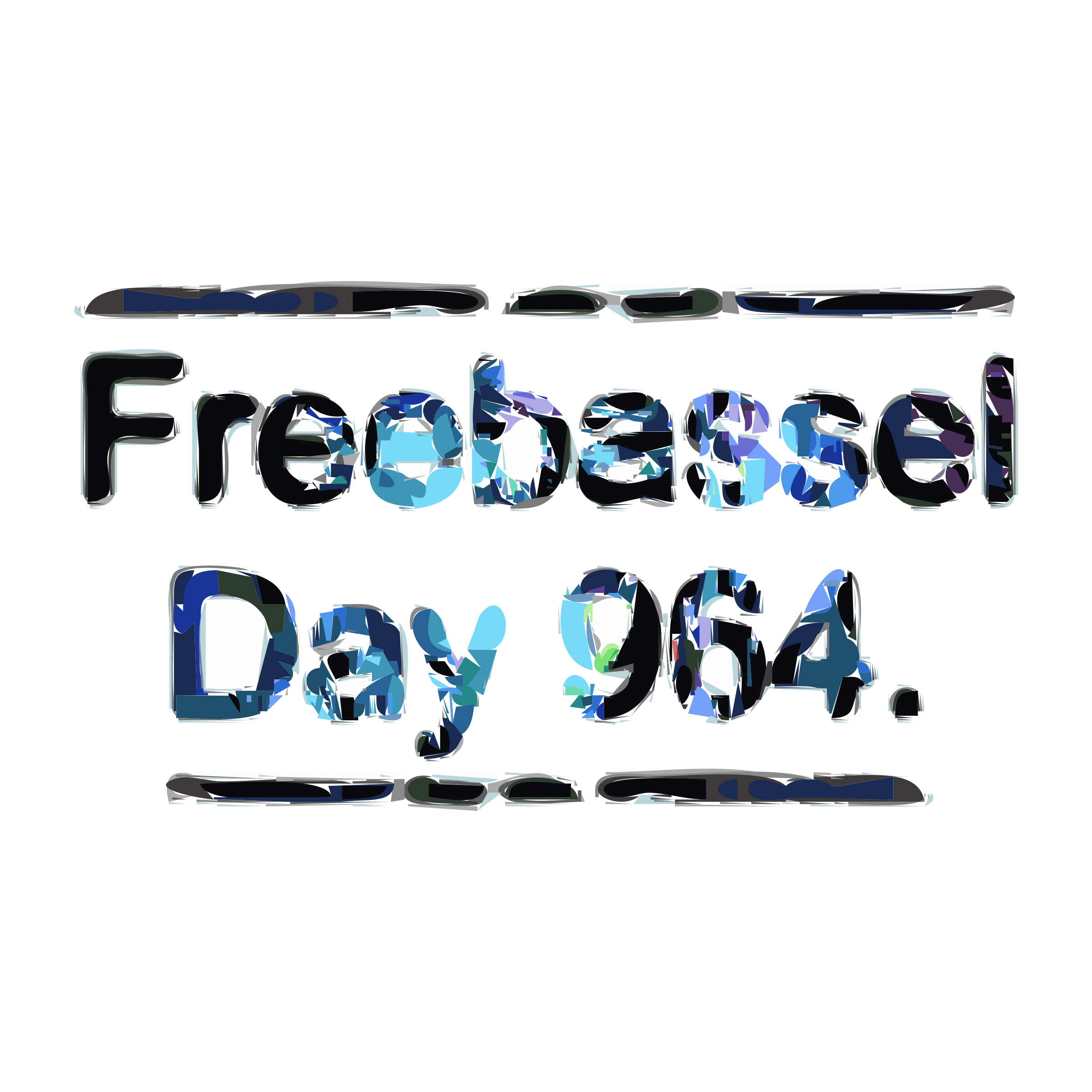 freebassel day 964 lettering by freebassel