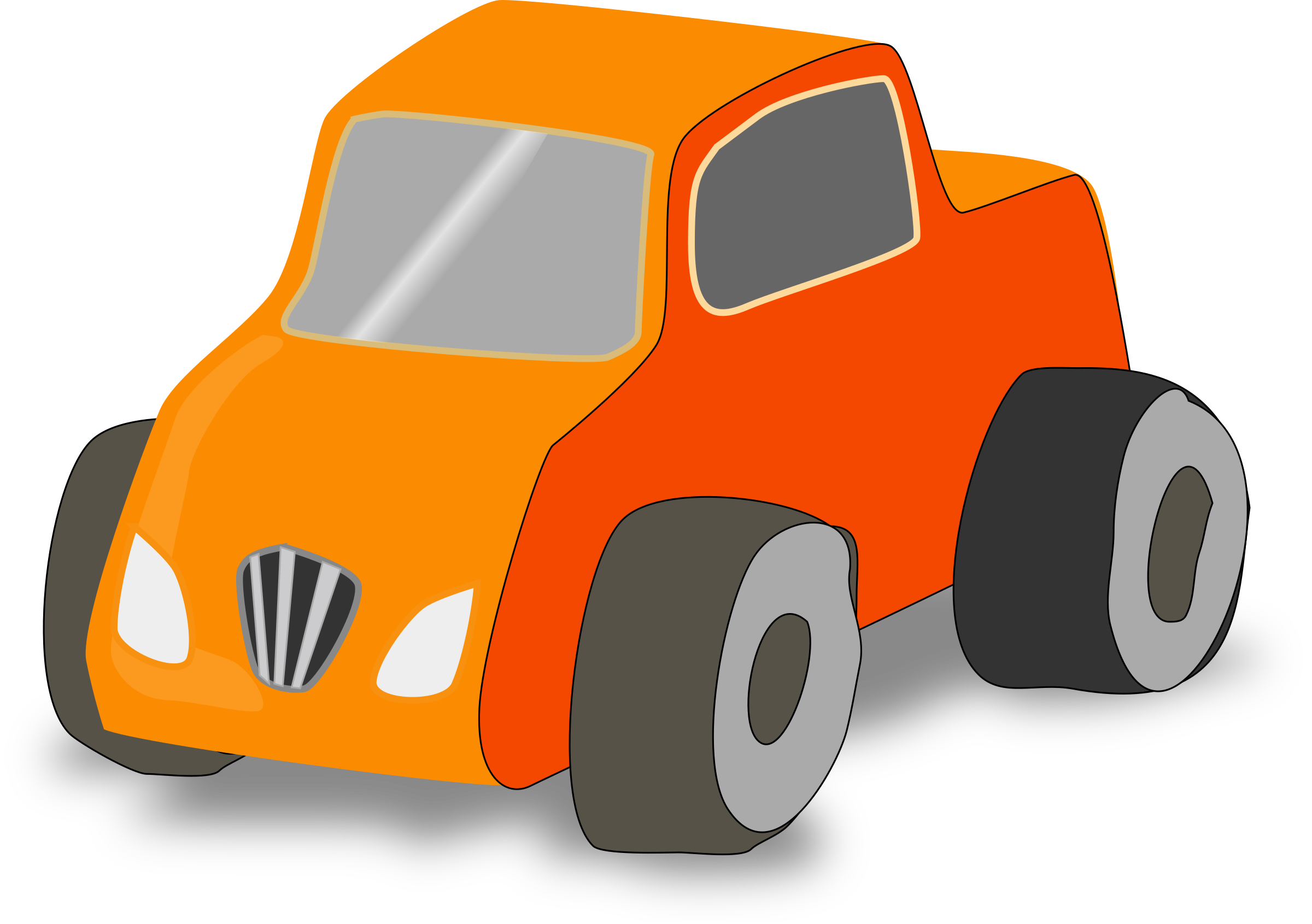 Simple Toy car truck by monsterbraingames