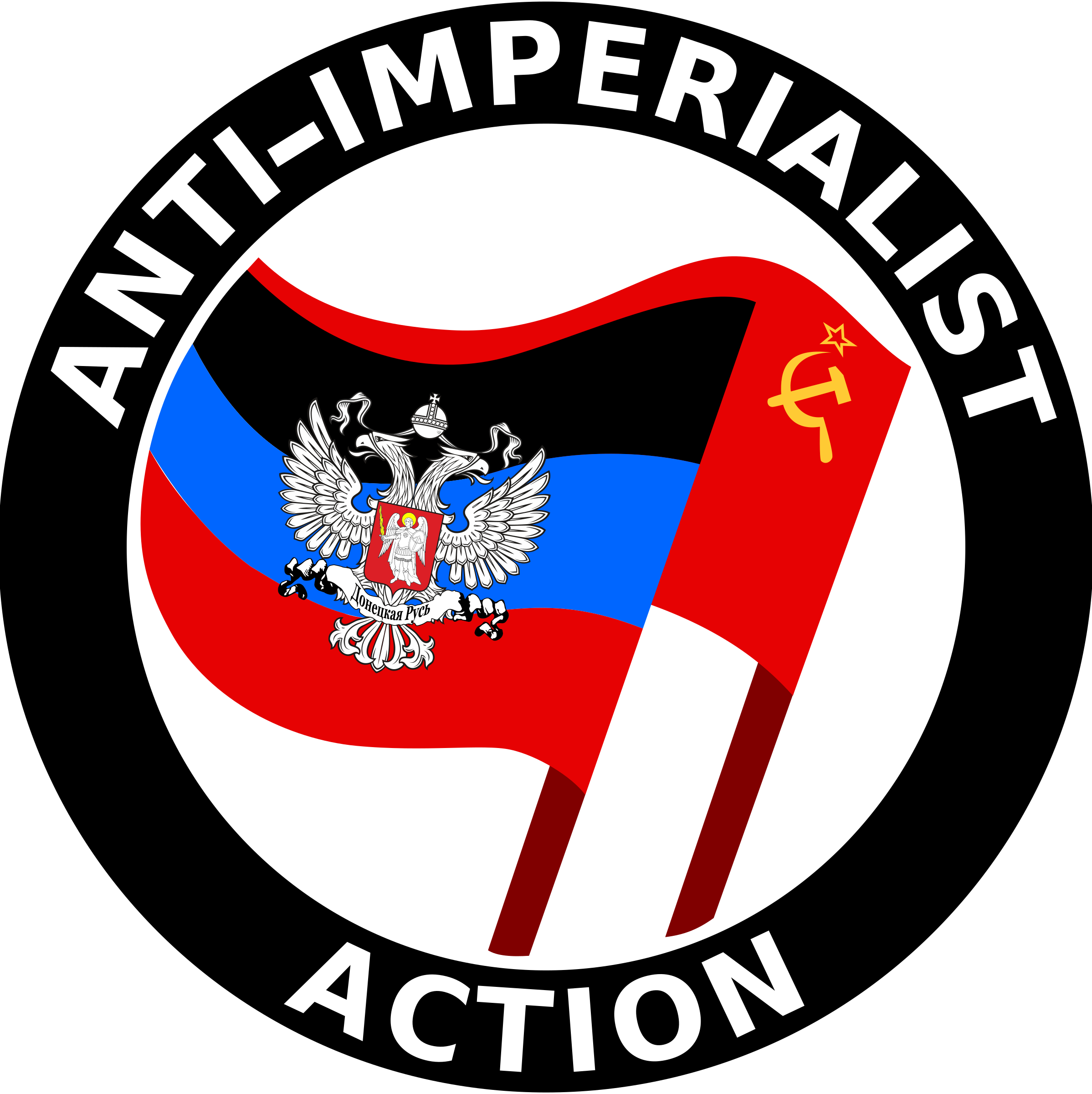 Anti-Imperialist Action Donetzk by worker