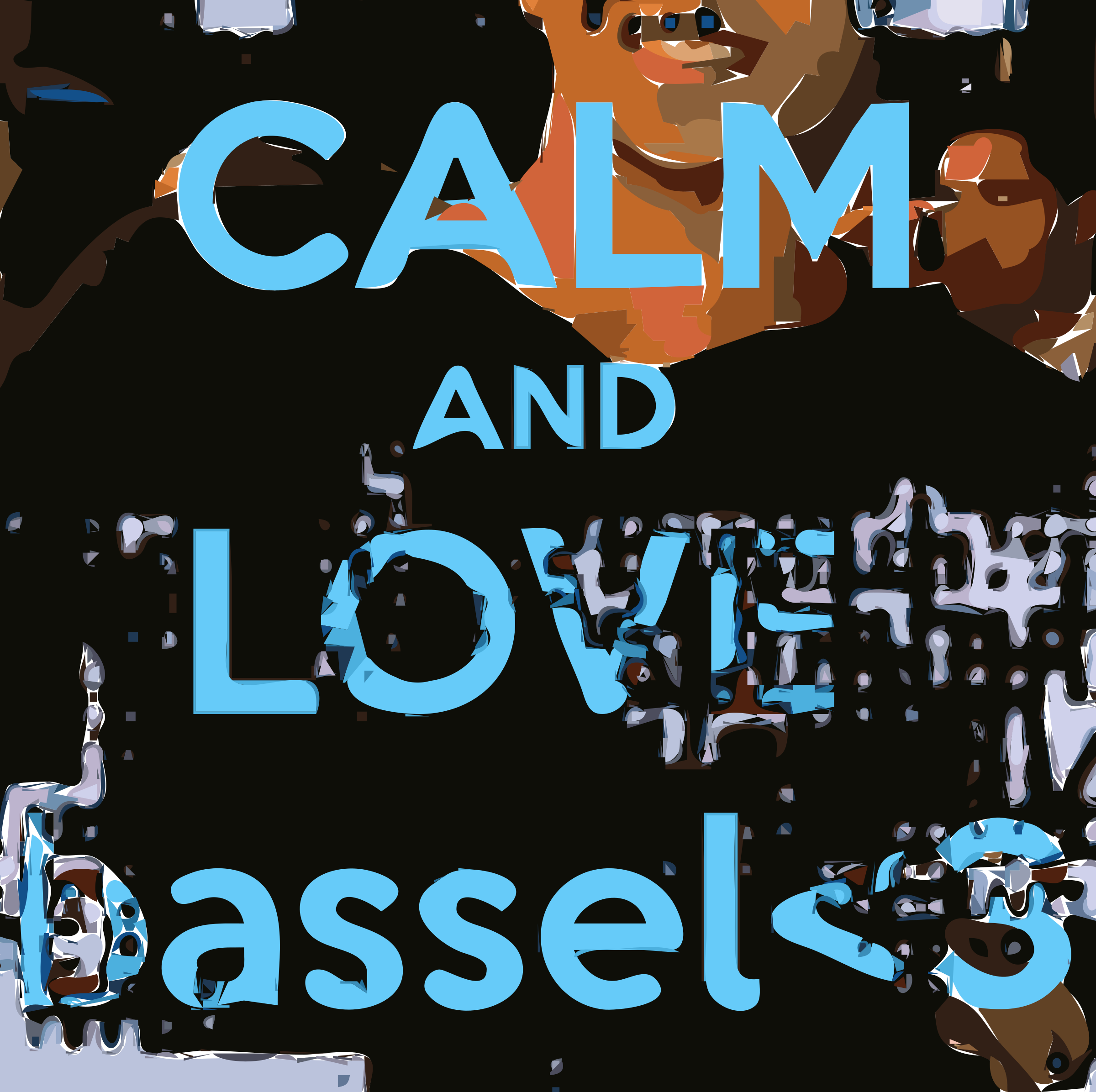 Freebassel Day 996 Calm and Love by freebassel
