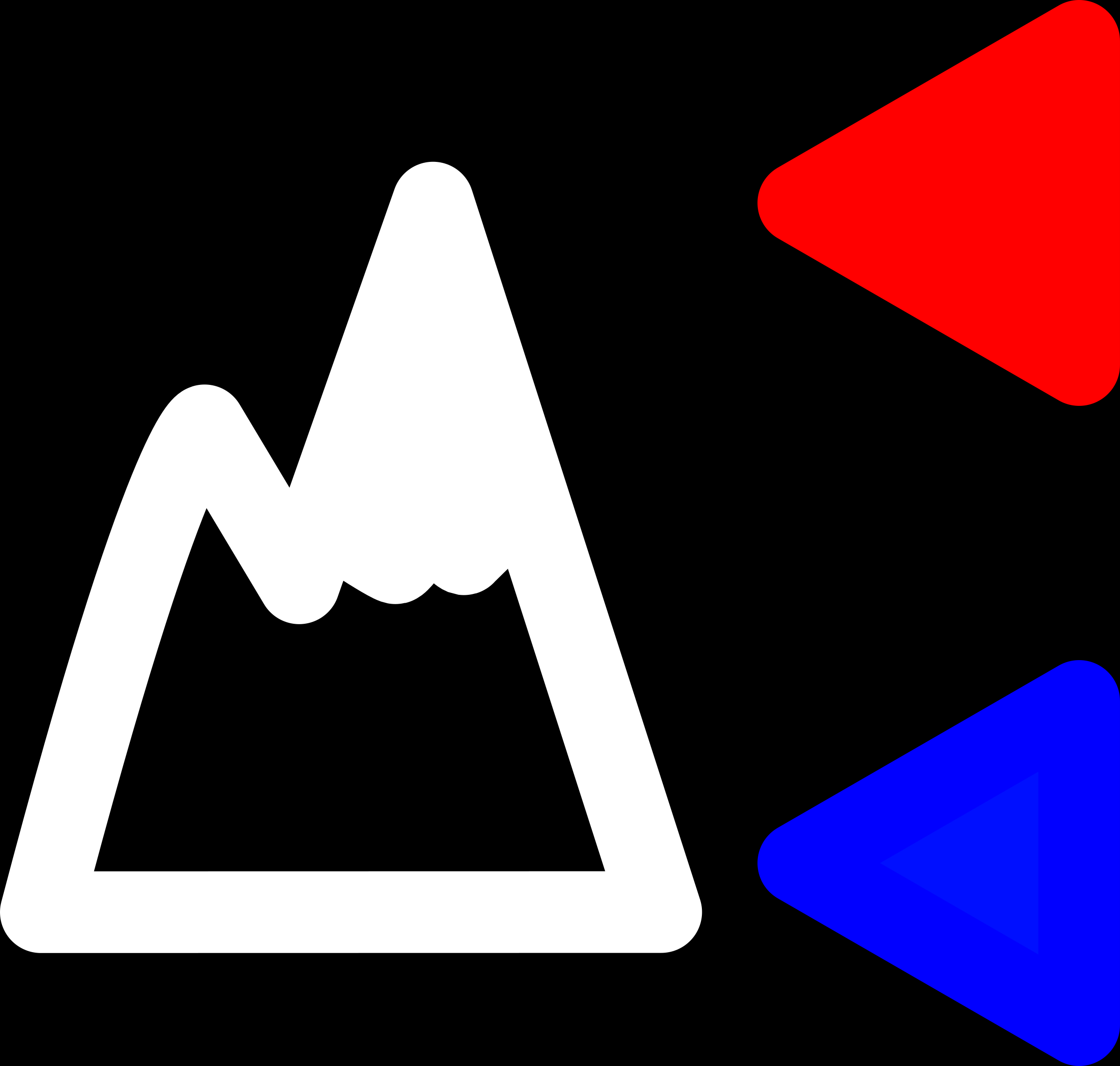 Simple altitude icon with min/max indicator  by przemof