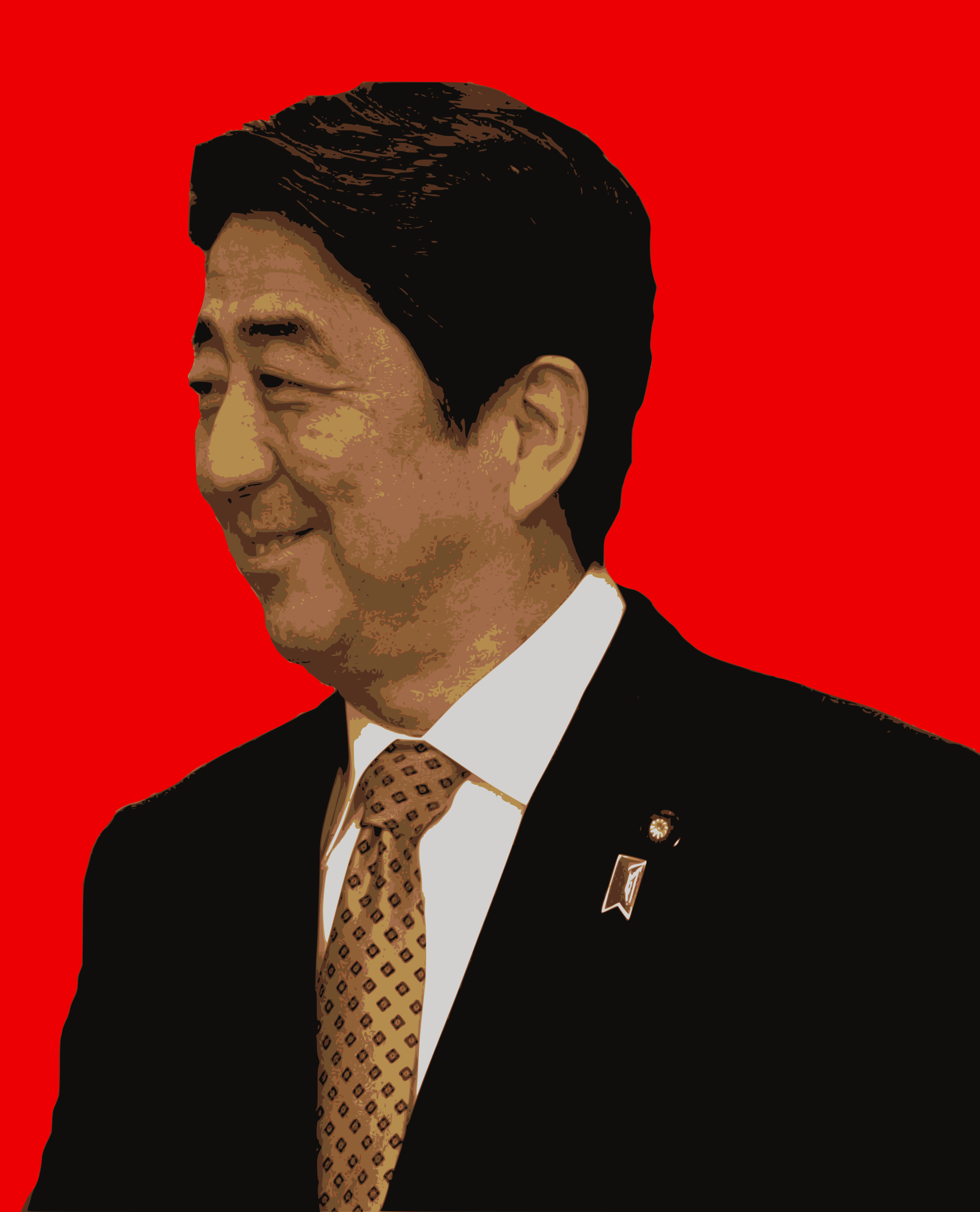 Hello Prime Minister Abe by j4p4n