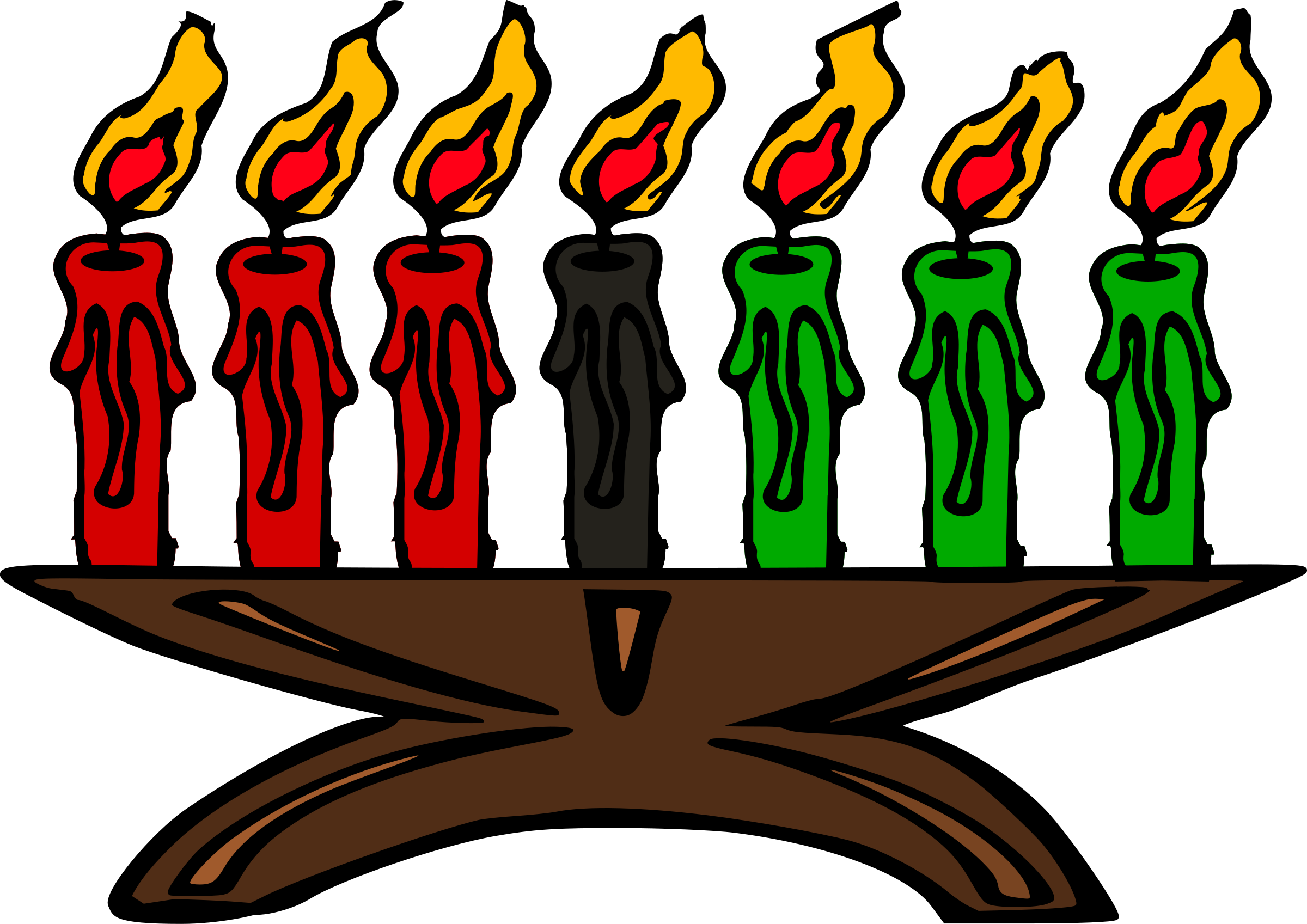 Kwanzaa Kinara (Kwanzaa Candles) by j4p4n