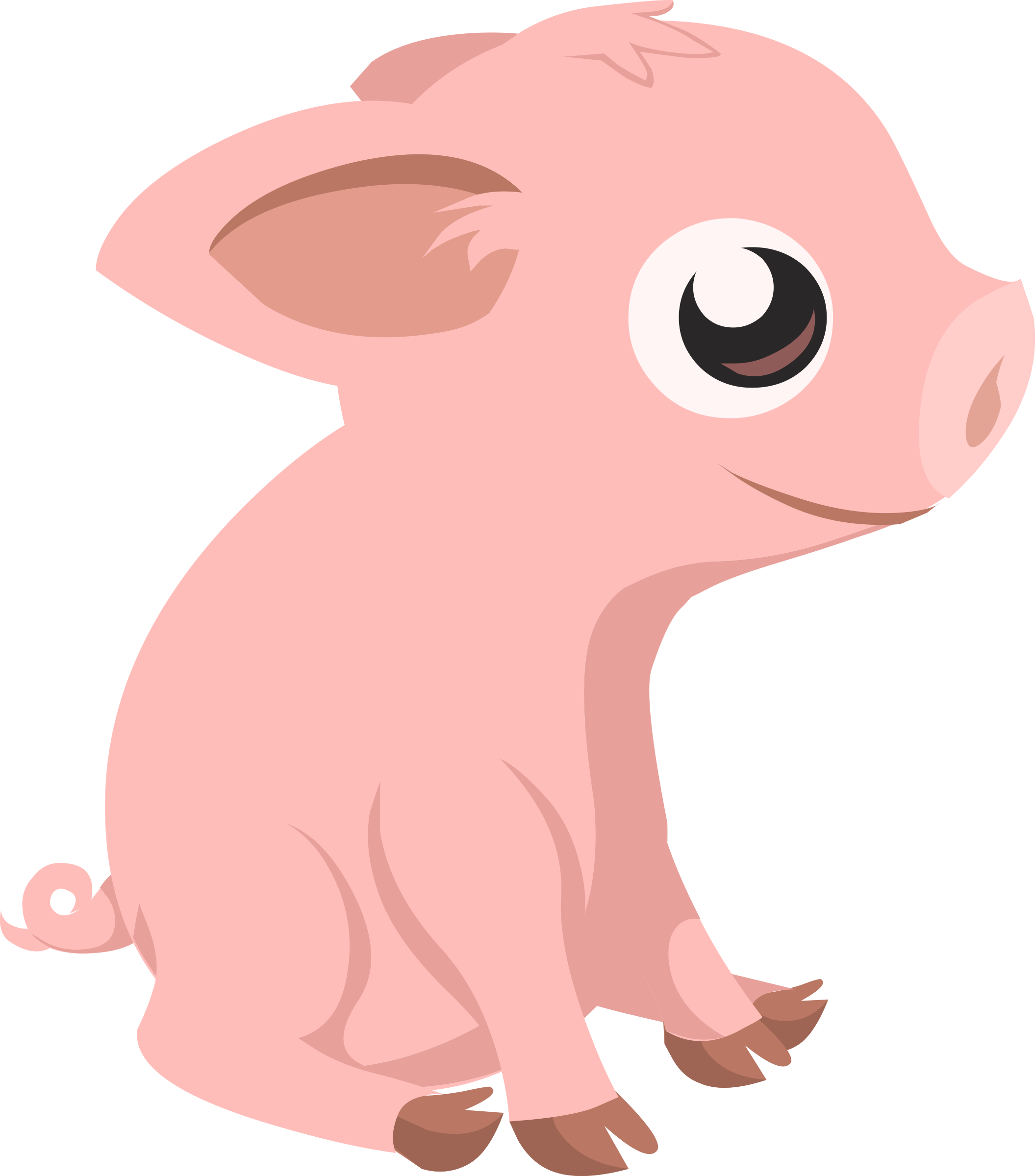 Inhabitants Piglet by glitch