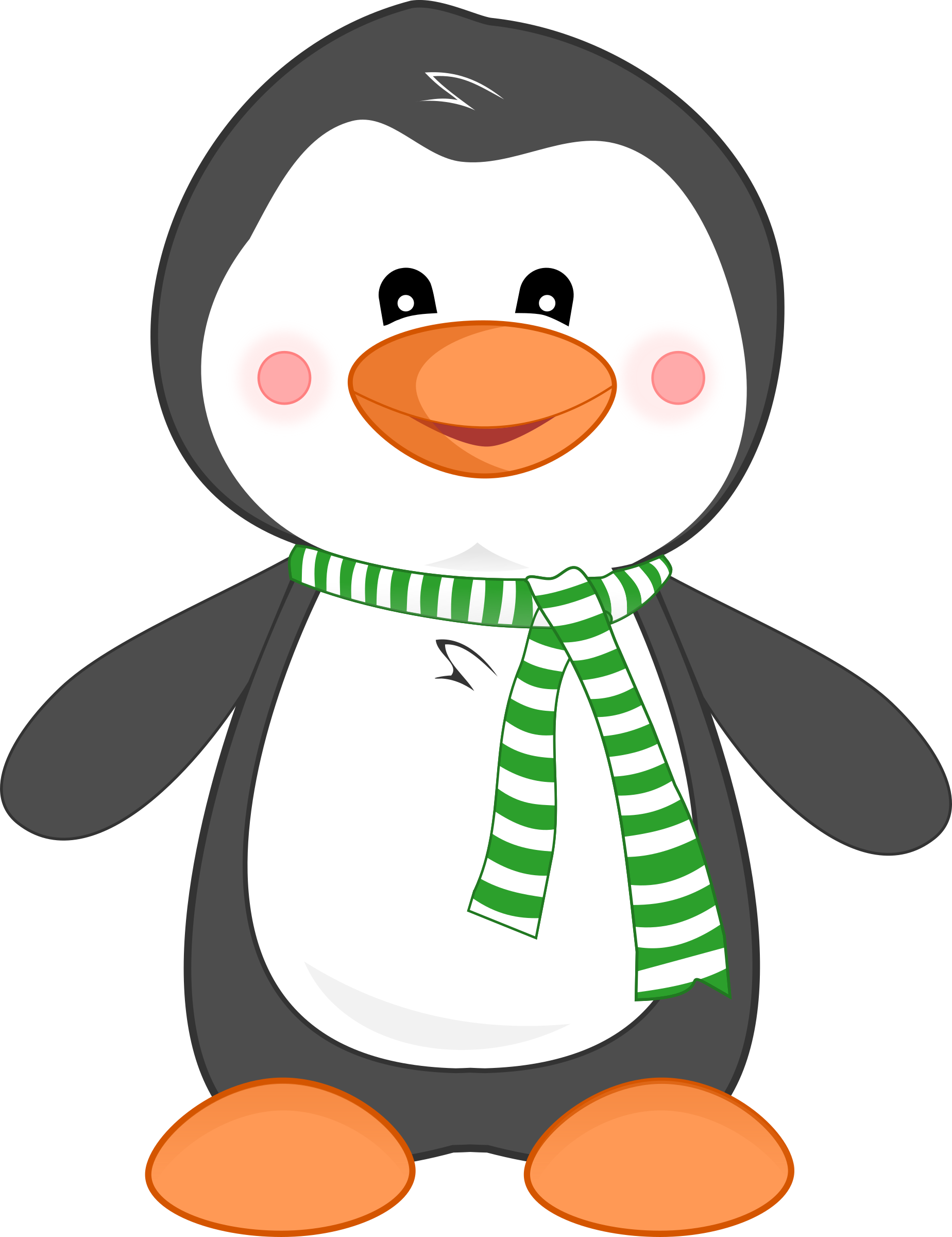 Pierre, the Penguin by cliparteles