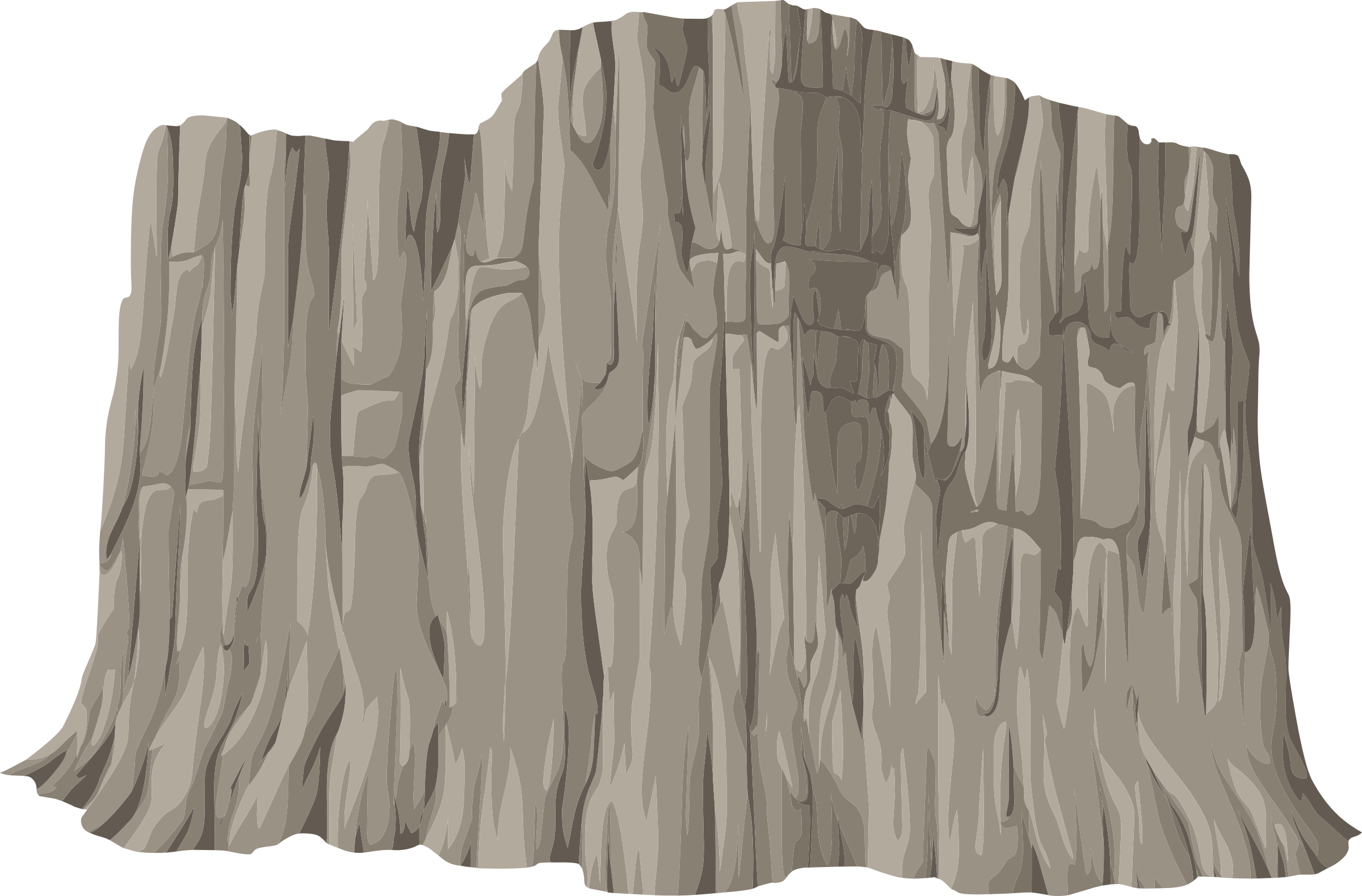 Clipart alpine landscape cliff face mountaineering 01a al1