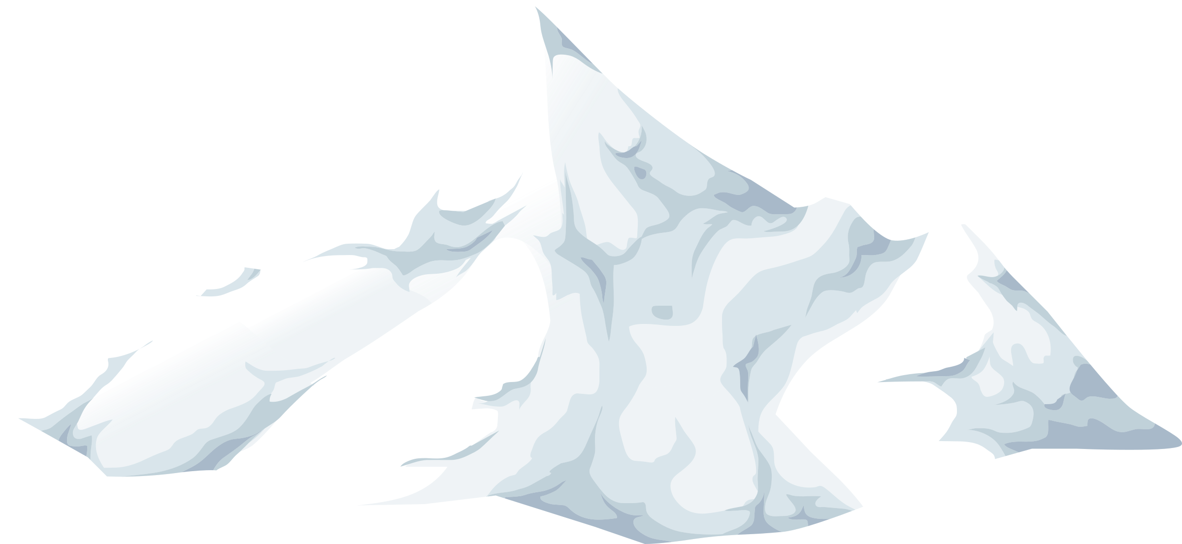 Alpine Landscape Cone Top Snow 01b Al1 by glitch