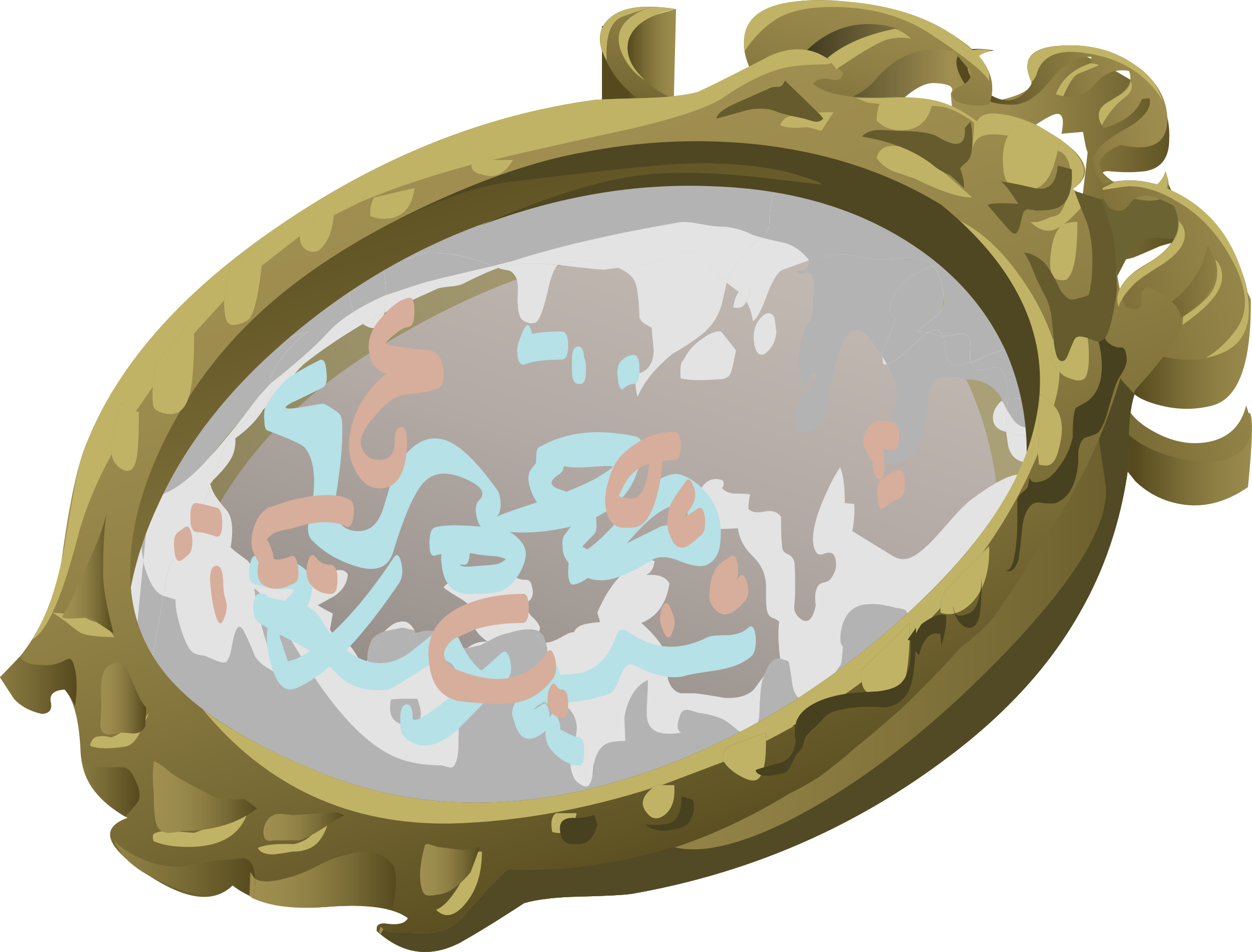 Artifact Mirror With Scribbles by glitch