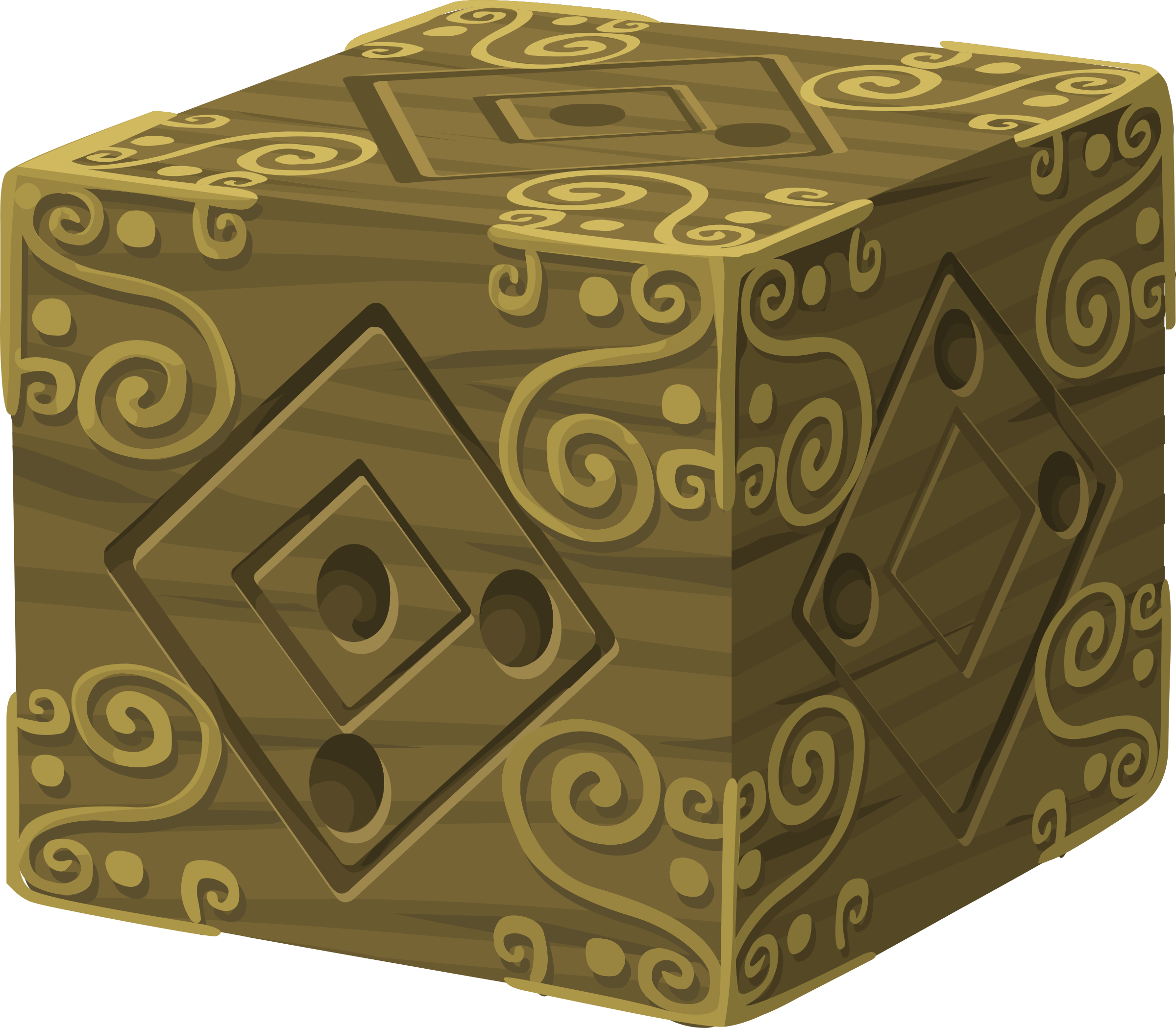 Artifact Mysterious Cube by glitch