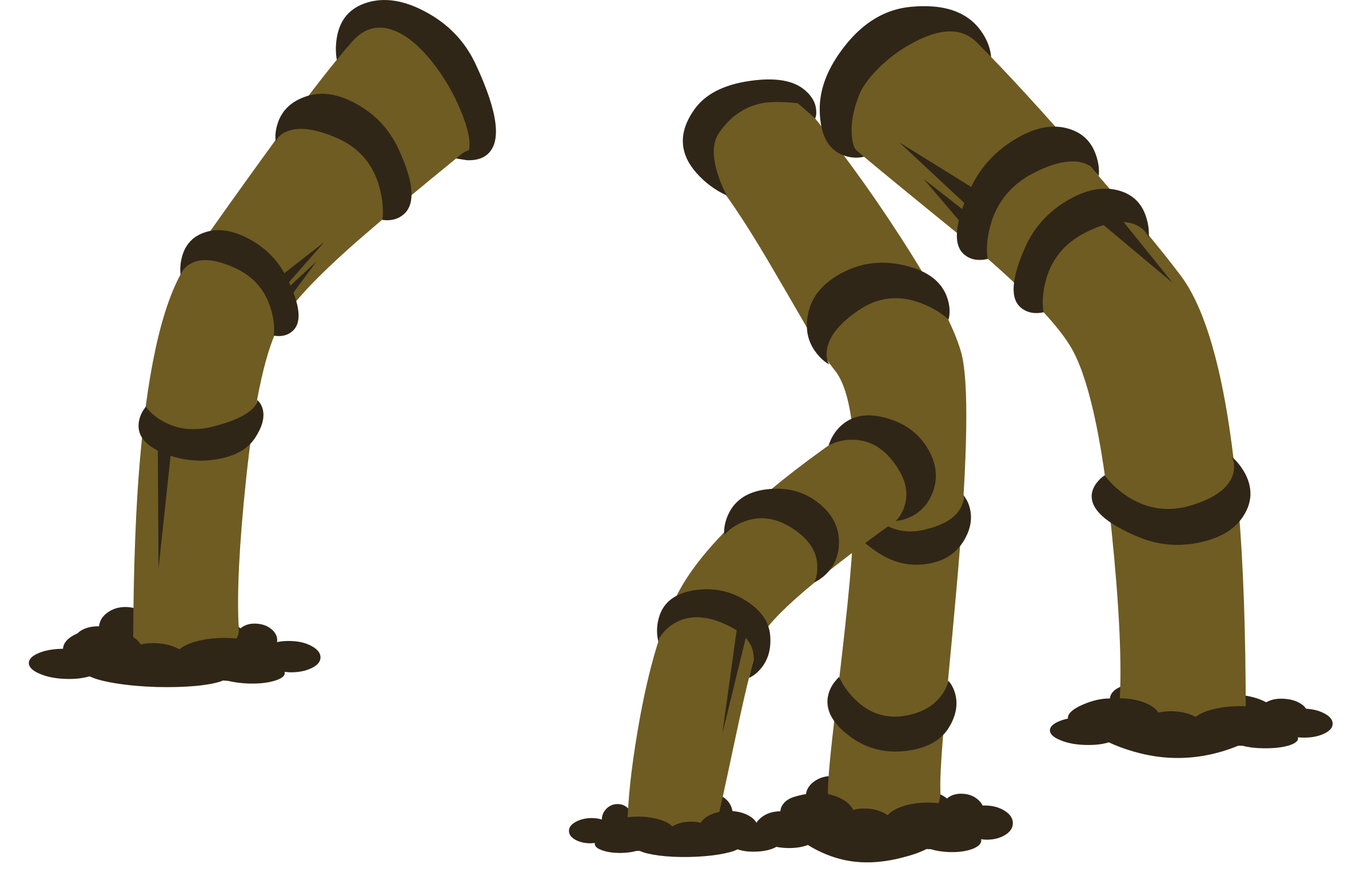 Firebog Legs Front Set1 by glitch