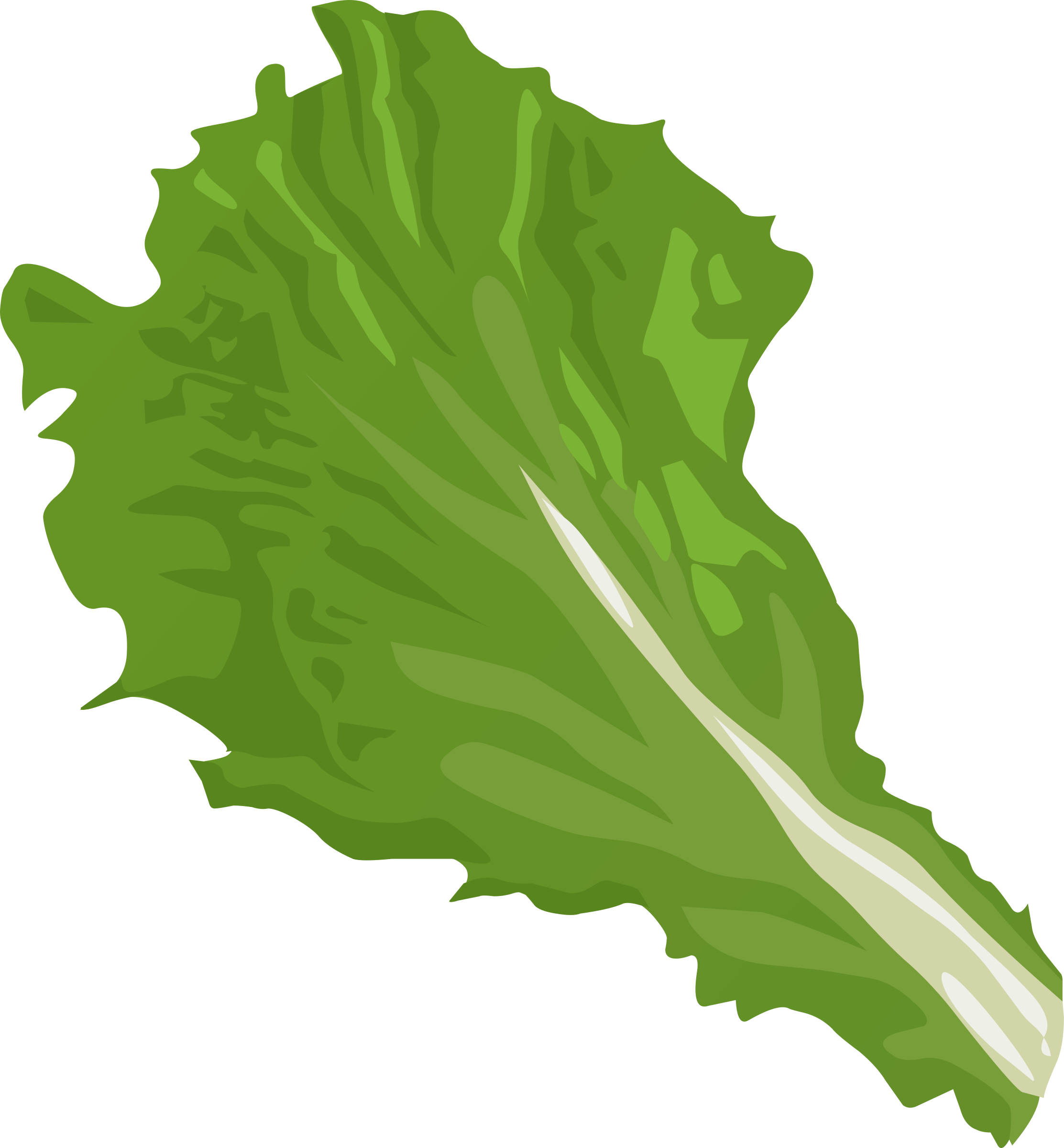 Clipart Food Green Leaf