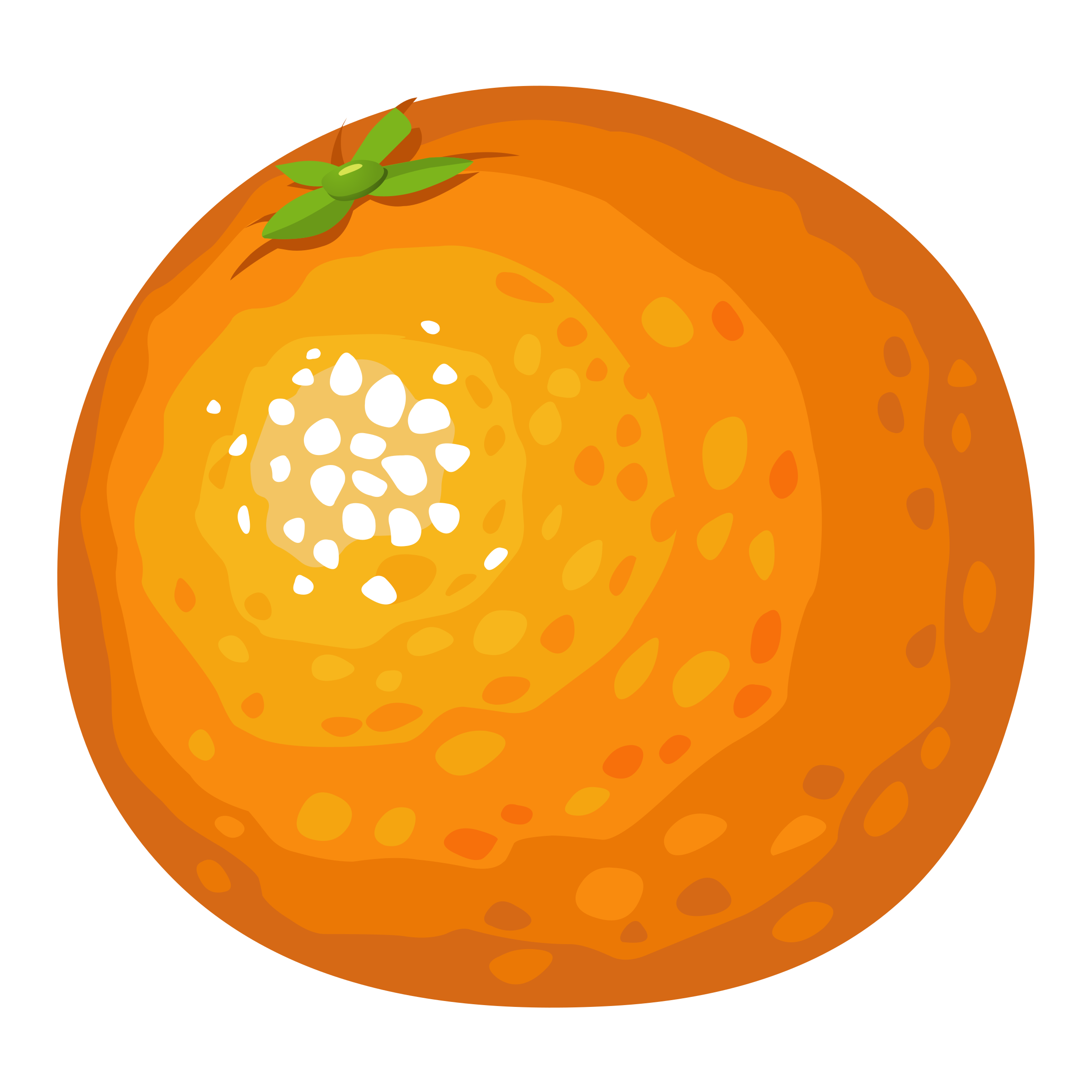 Food Orange by glitch