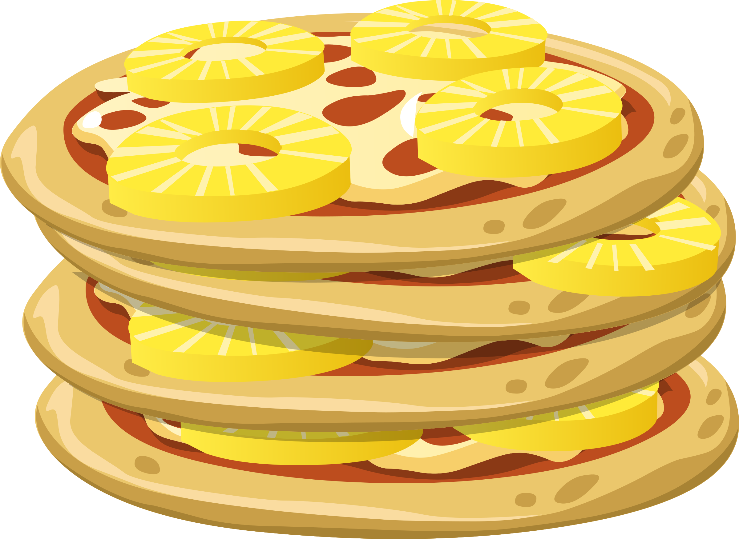 Food Papl Upside Down Pizza by glitch