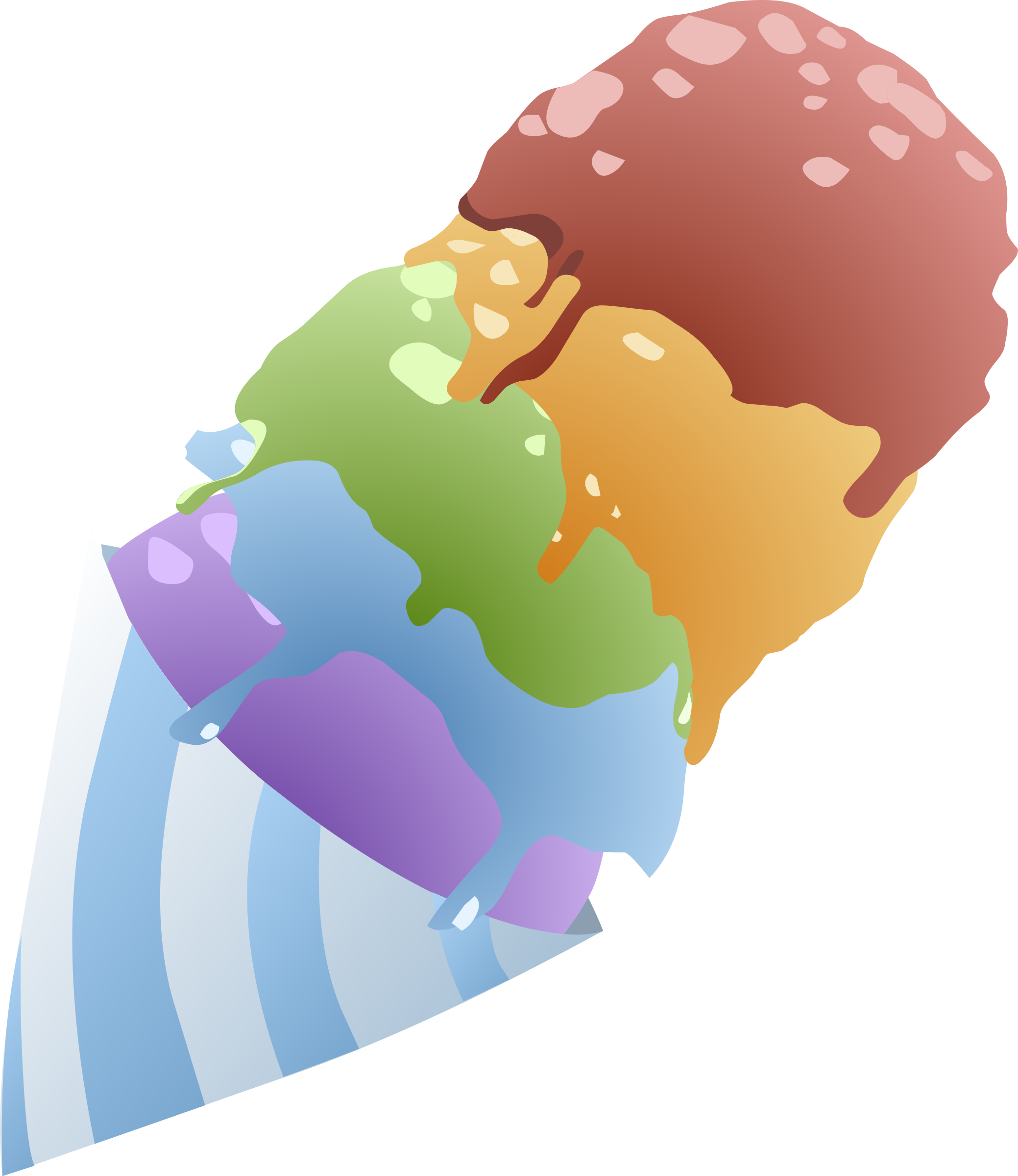 Food Sno Cone Rainbow by glitch