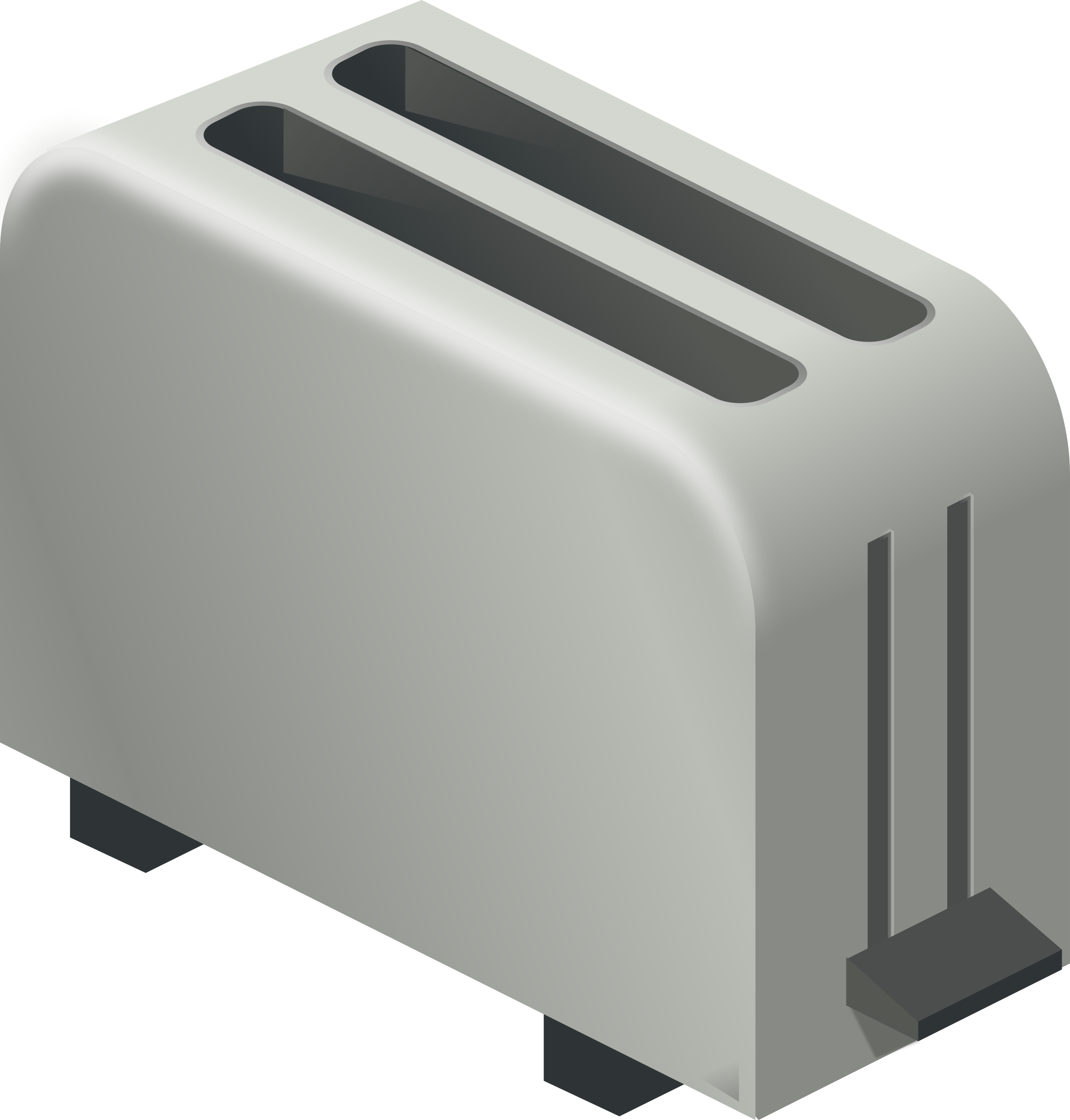 isometric toaster by rg1024