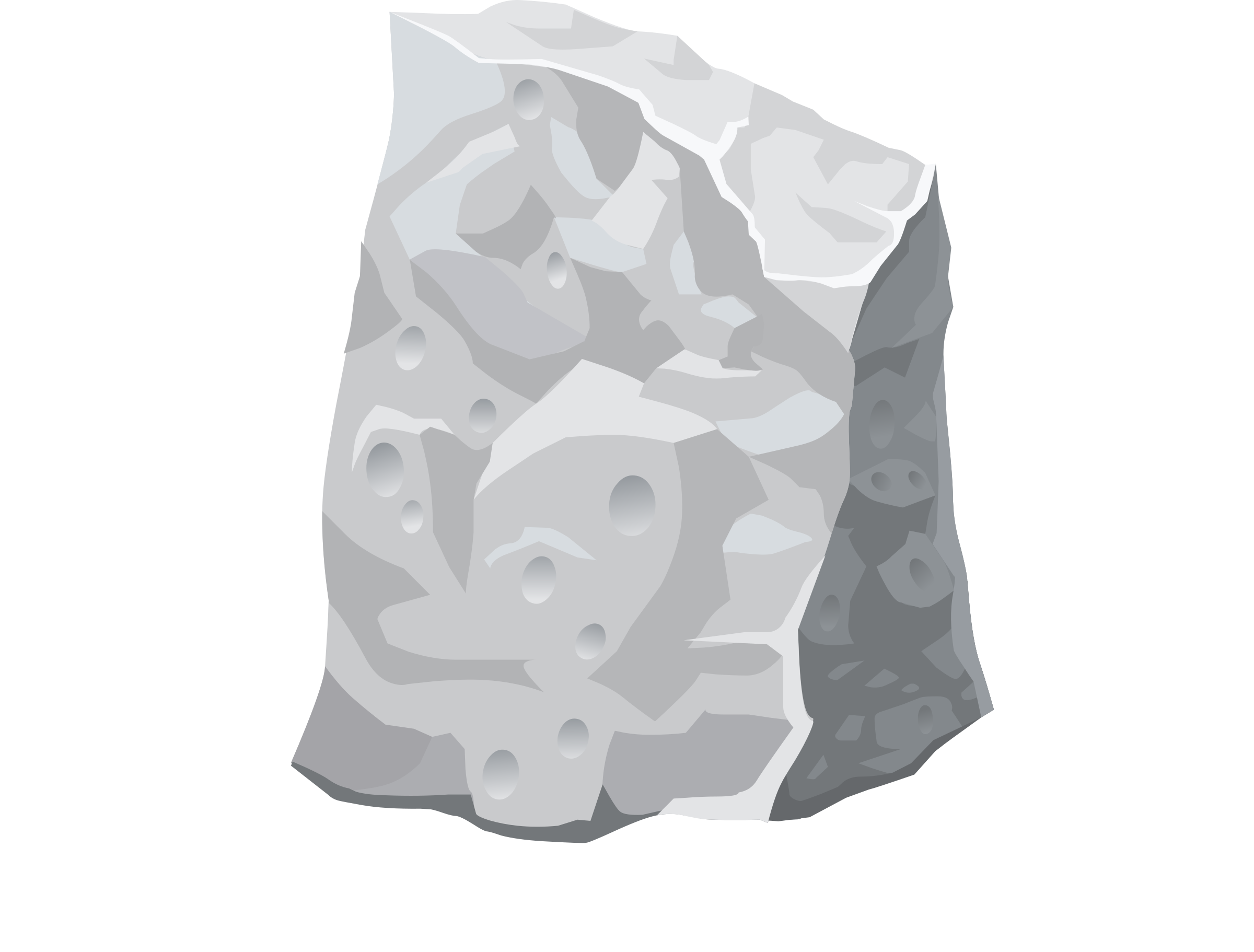 Harvestable Resources Rock Dullite 1 by glitch