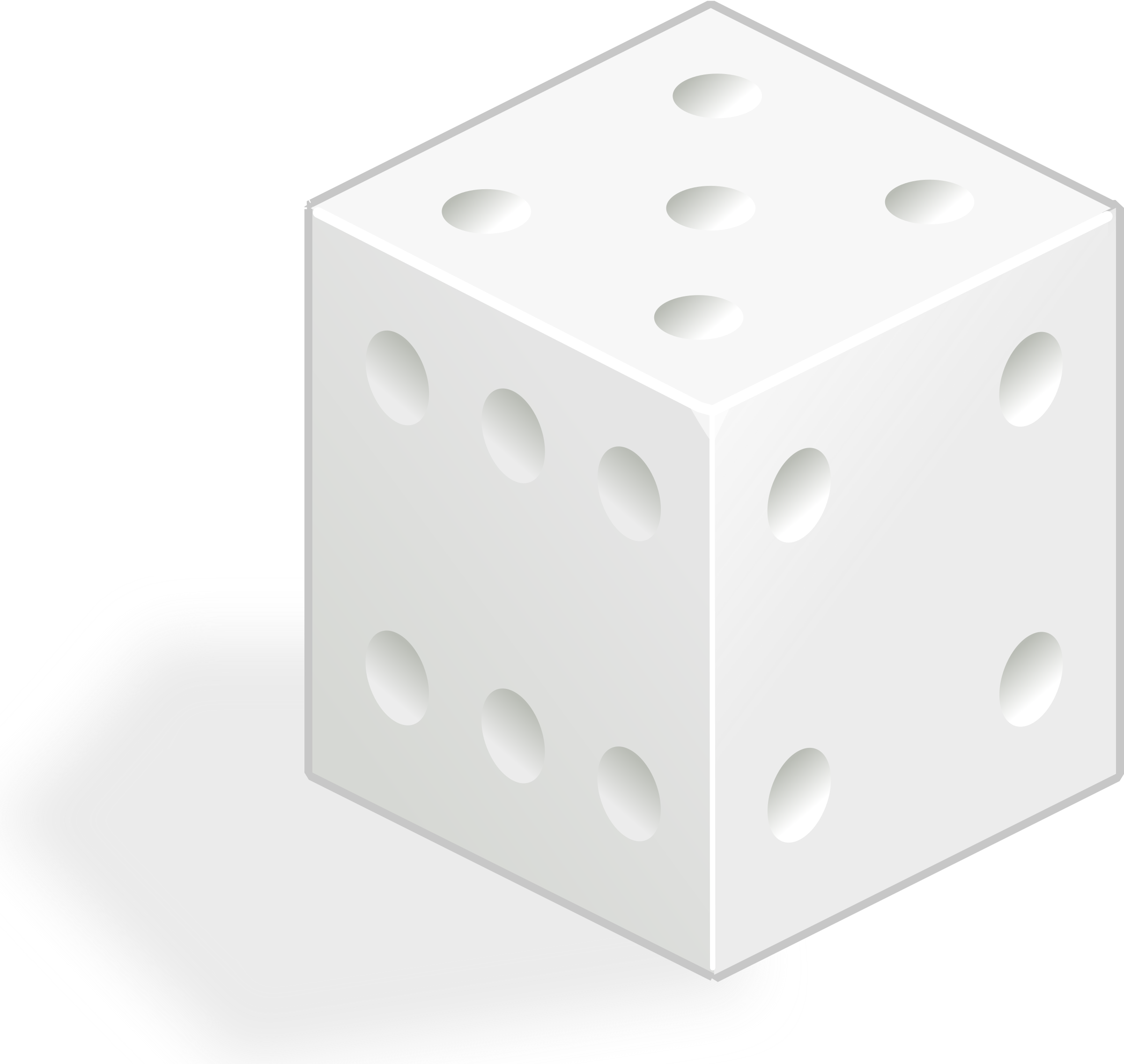 white dice by rg1024