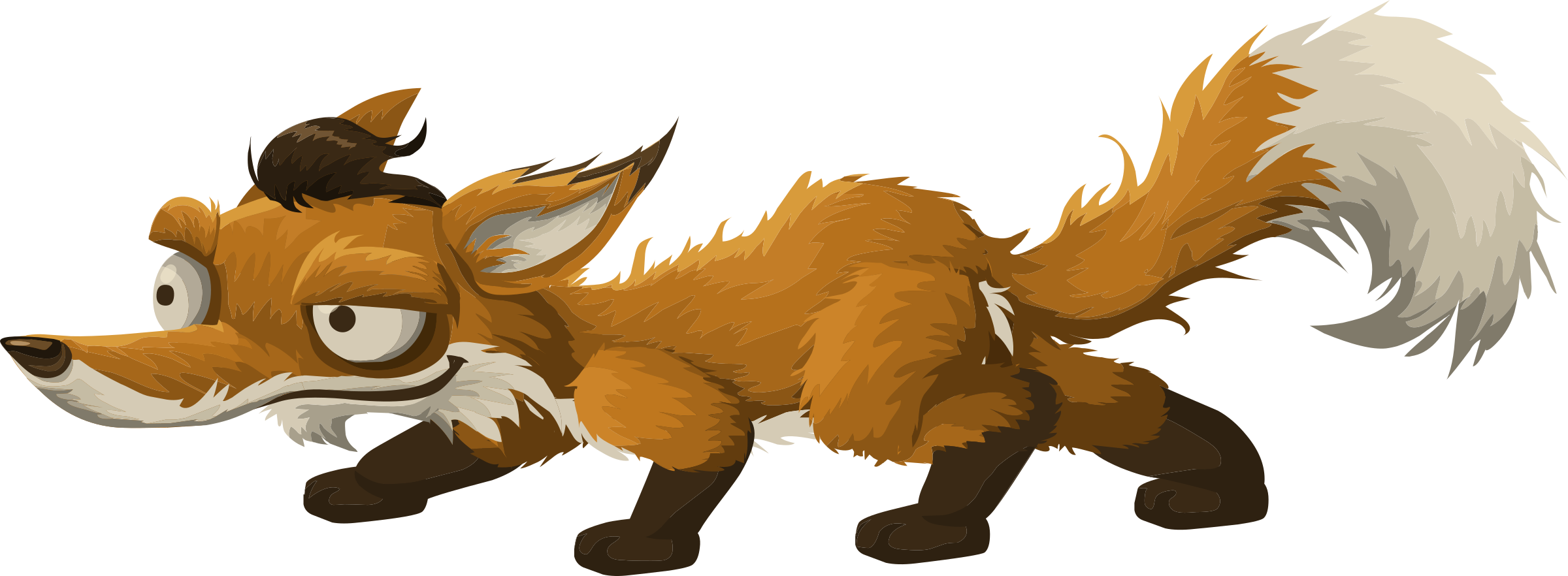 Clipart Inhabitants Npc Fox