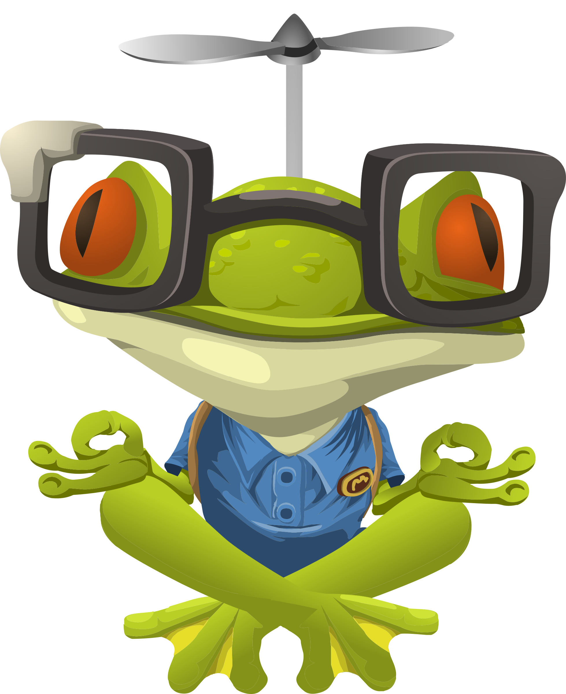 Inhabitants Npc Myopic Frog by glitch