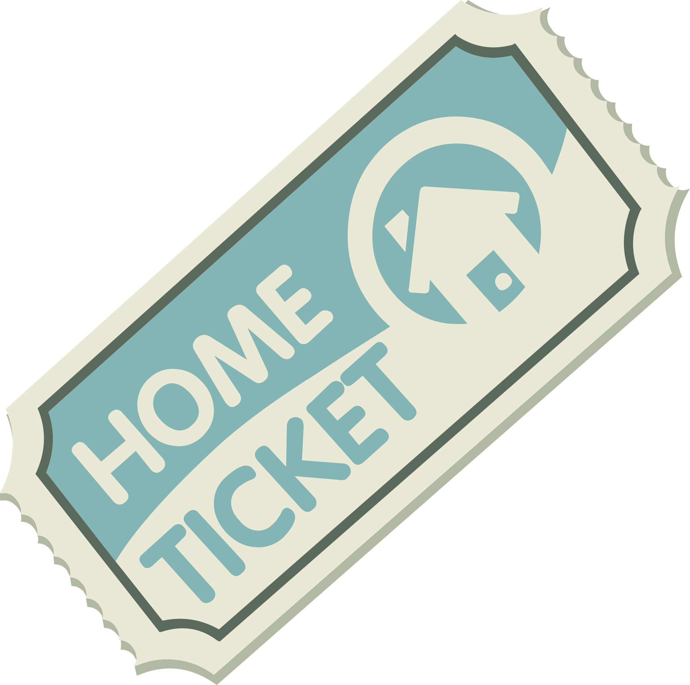 Misc Homestreet Ticket by glitch