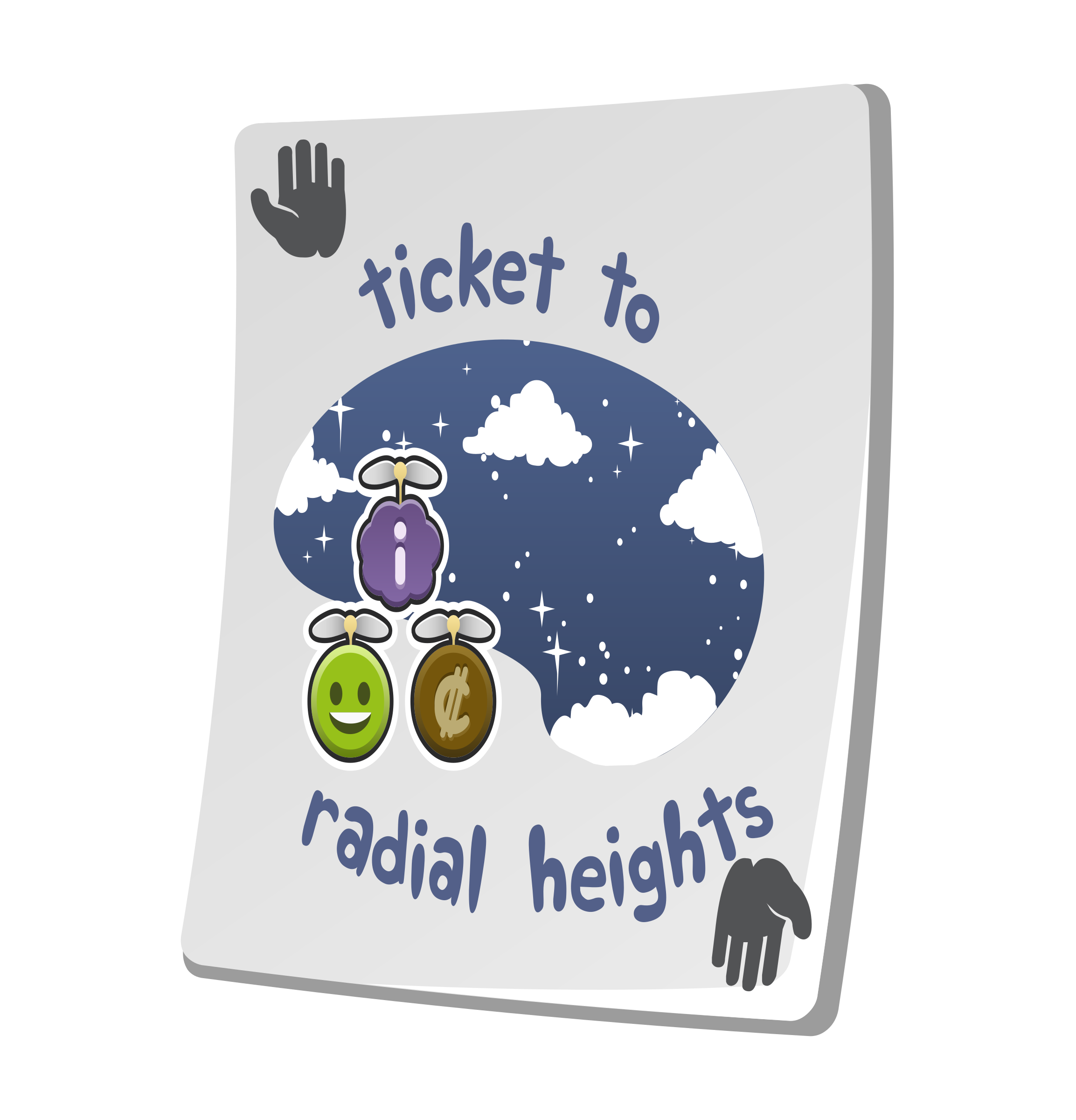 Misc Paradise Ticket Radial Heights by glitch
