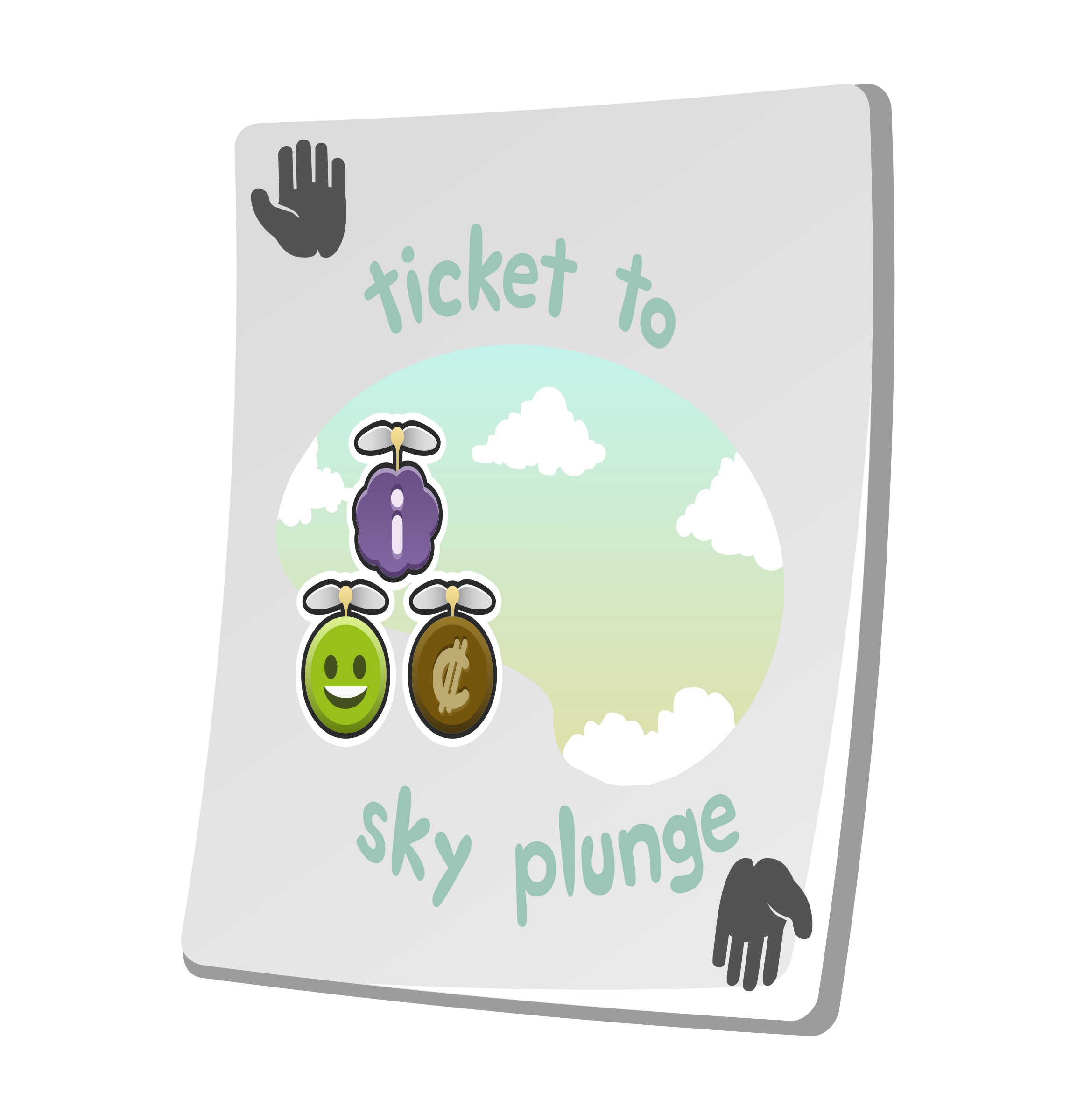 Misc Paradise Ticket Sky Plunge by glitch