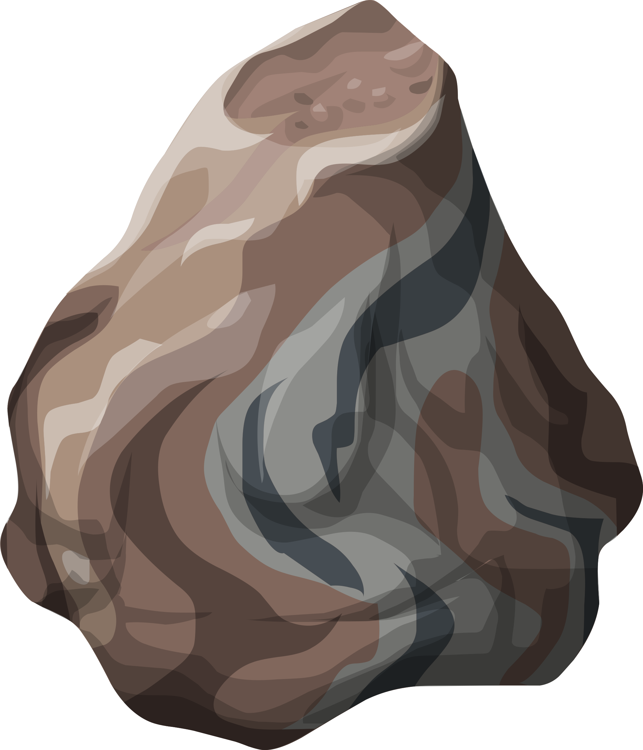 Misc Petrified Rock Large by glitch