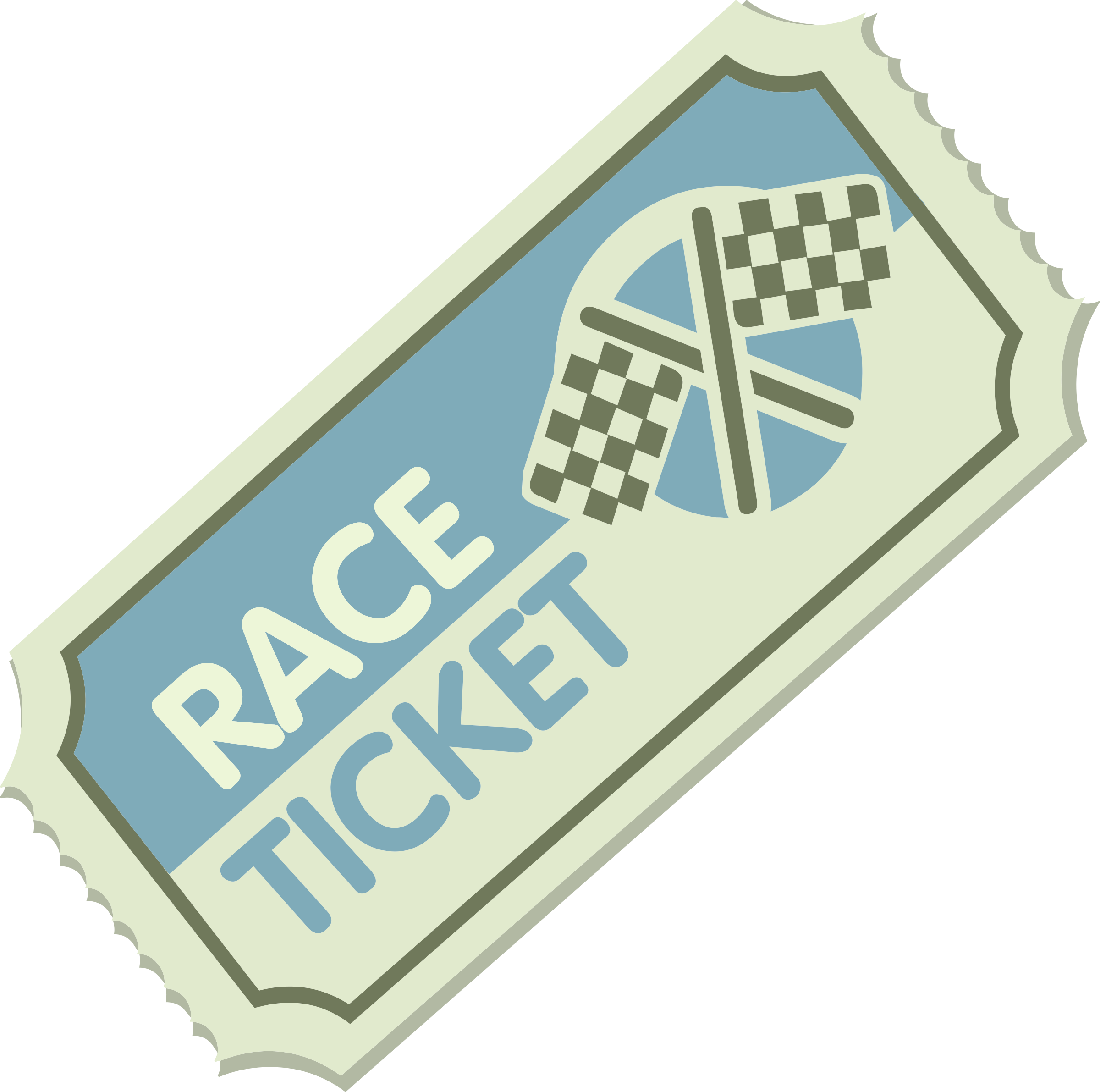Misc Race Ticket by glitch